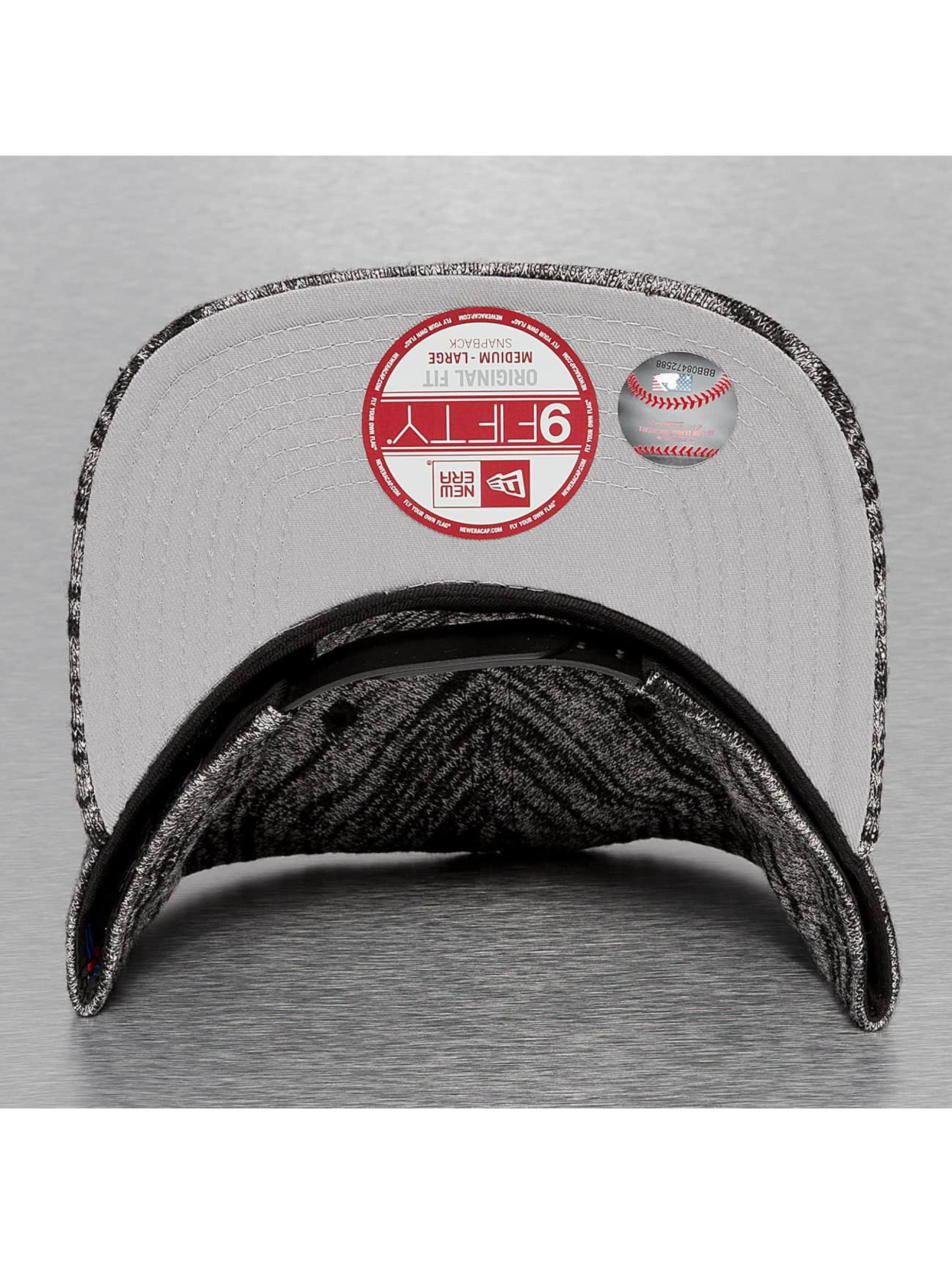 New Era Snapback Cap Jersey Fleck NY Yankees schwarz