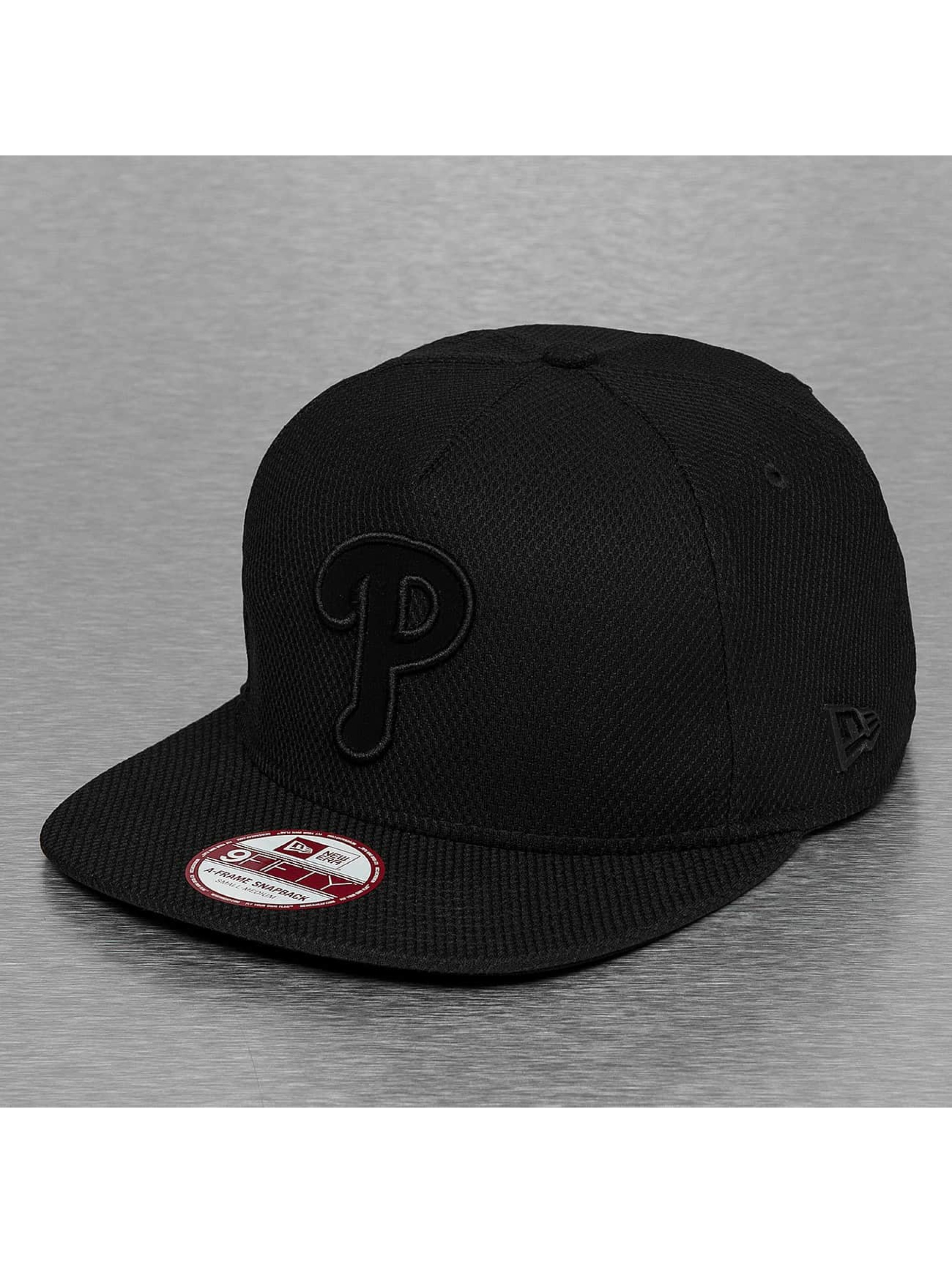 New Era Snapback Cap Diamond Fill Philadelphia Phillie schwarz