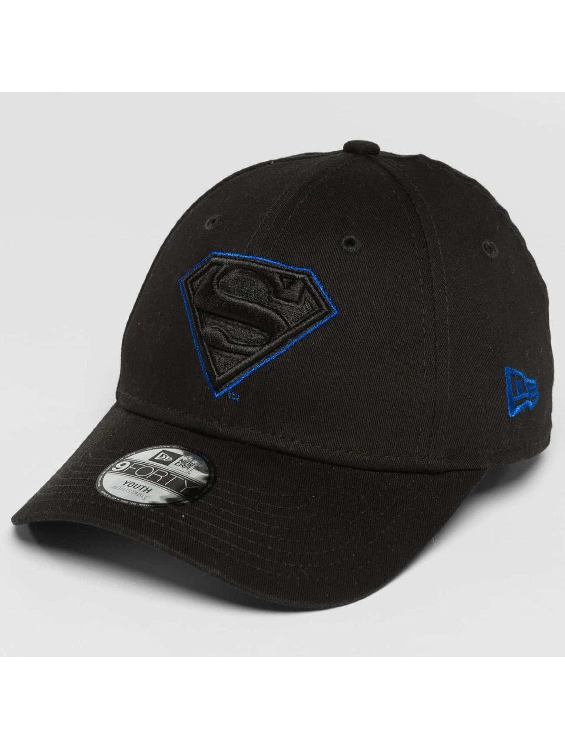 New Era Snapback Cap OUTL Superman 9Forty schwarz
