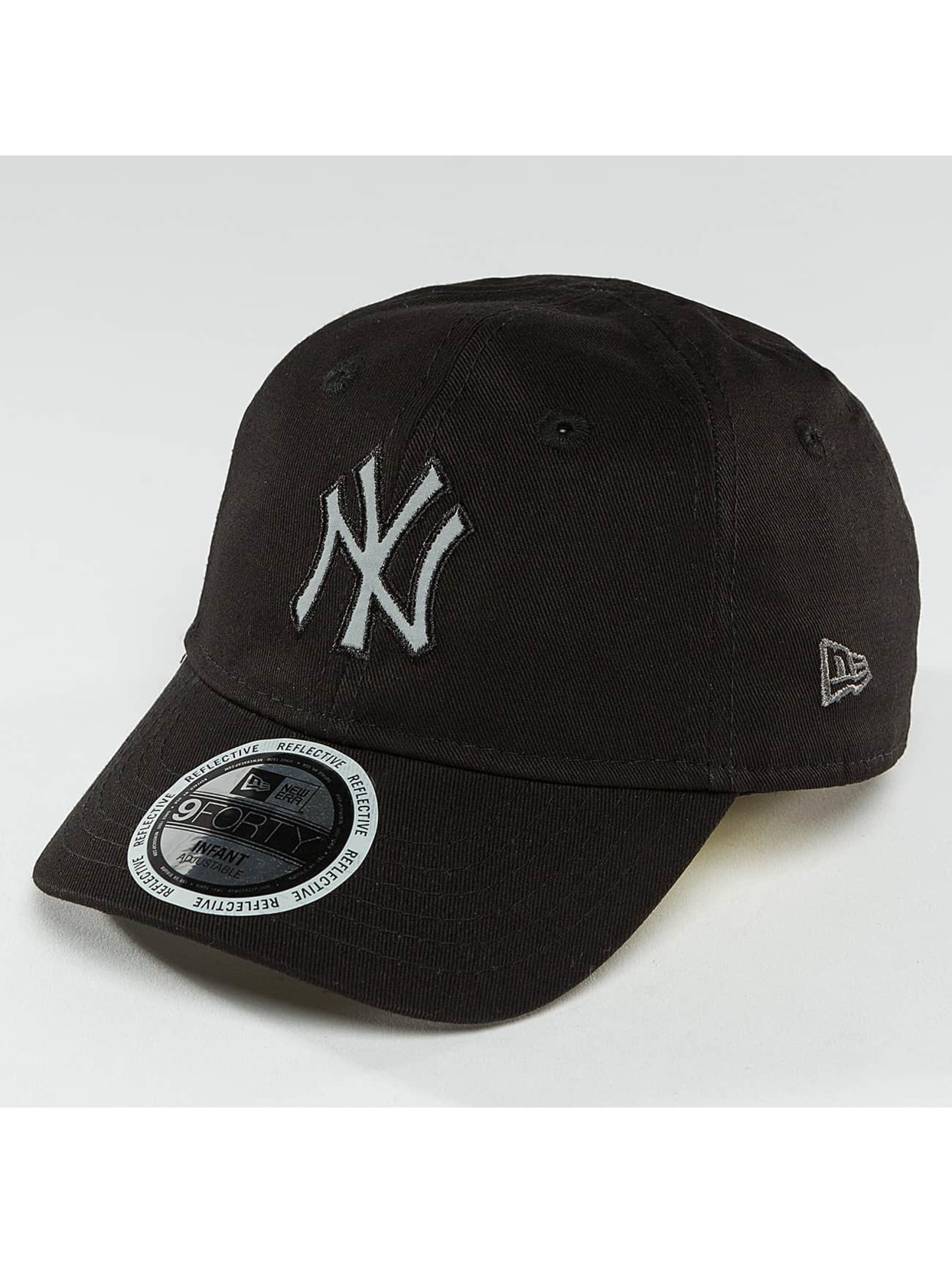 New Era Snapback Cap Reflect NY Yankees schwarz