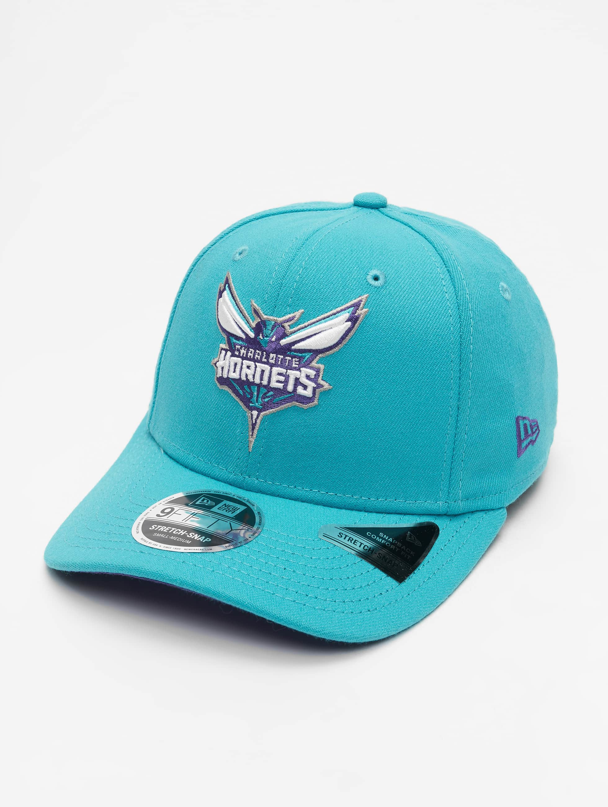New Era NBA Charlotte Hornets Team Stretch 9Fifty Snapback Cap Turquoise
