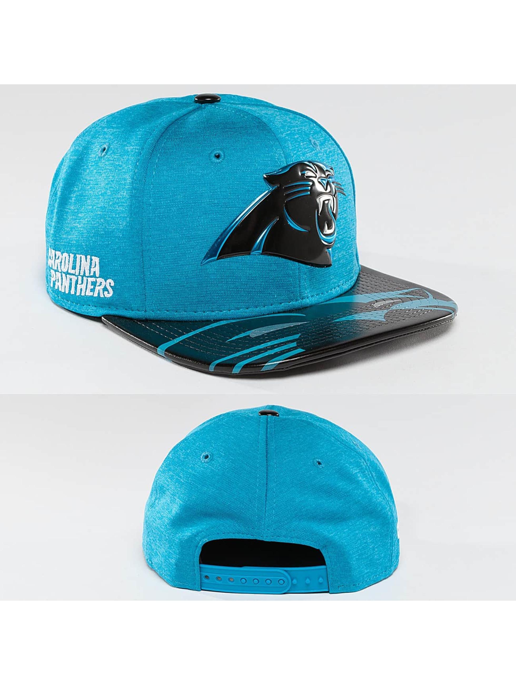 New Era Snapback Cap NFL Offical On Stage Carolina Panthers 9Fifty turquoise