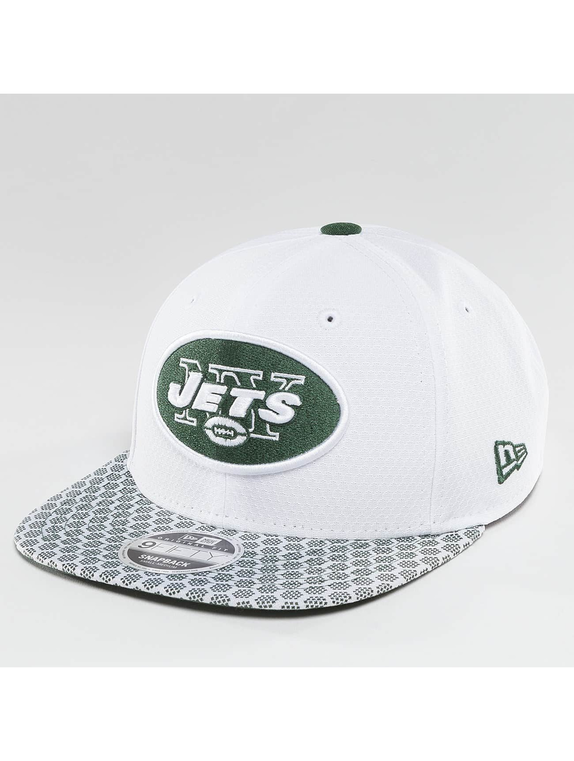 New Era Snapback Cap NFL On Field NY Jets 9Fifty weiß