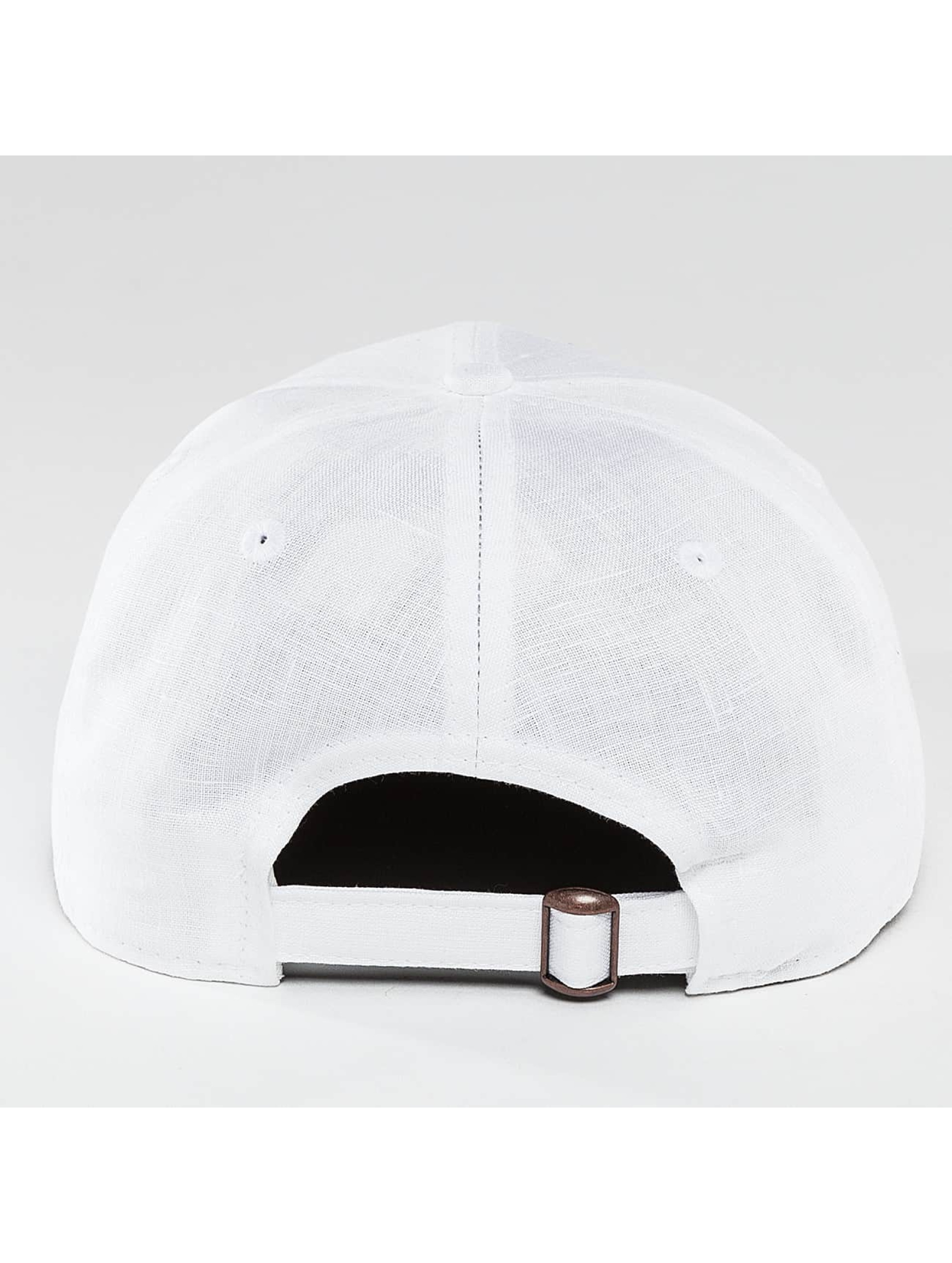 New Era Snapback Cap Linen Felt Detroit Tigers Cooperstown white