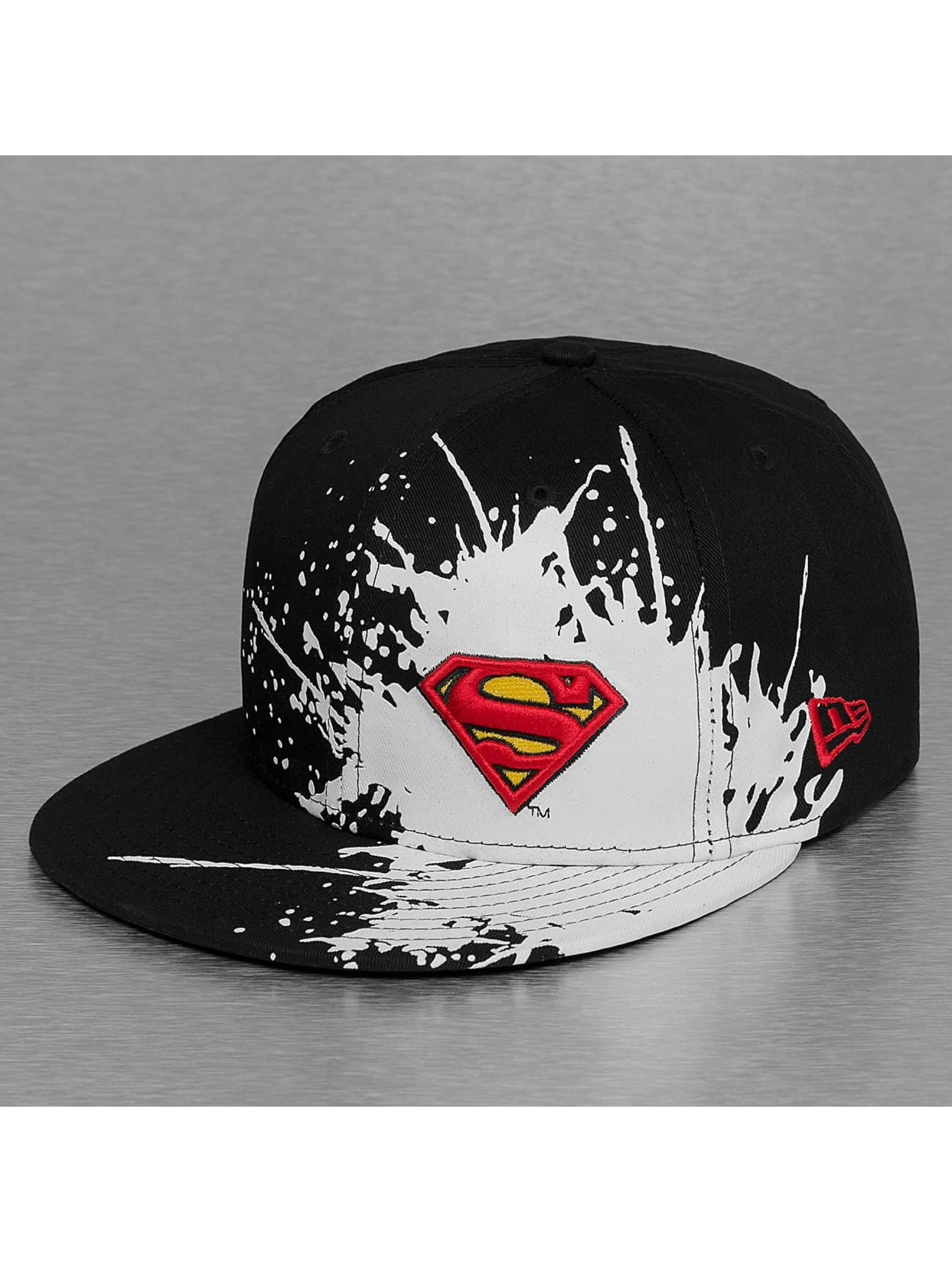 New Era snapback cap Splatways Superman zwart