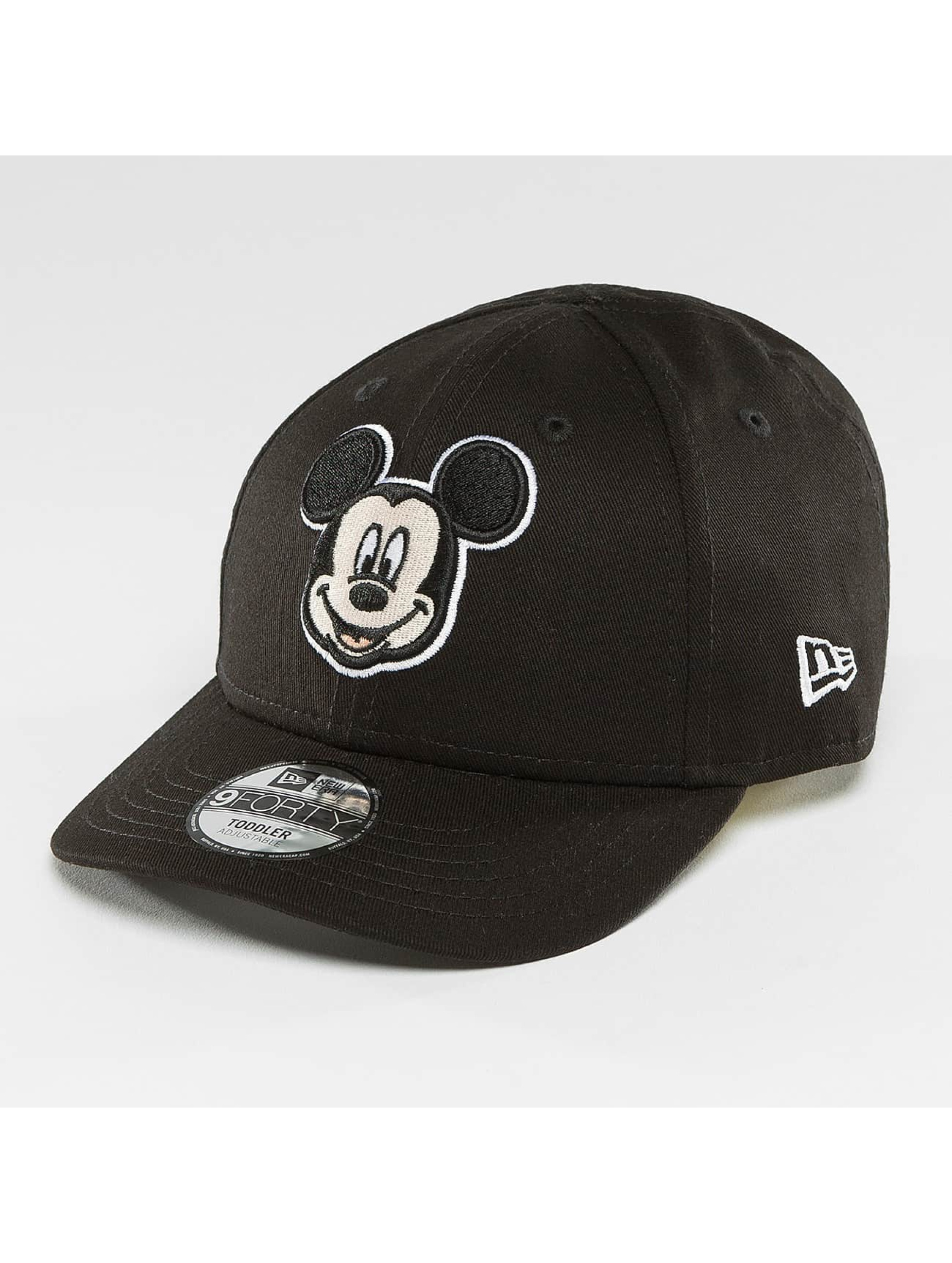 New Era Snapback Caps Essential Mickey Mouse 9Forty czarny