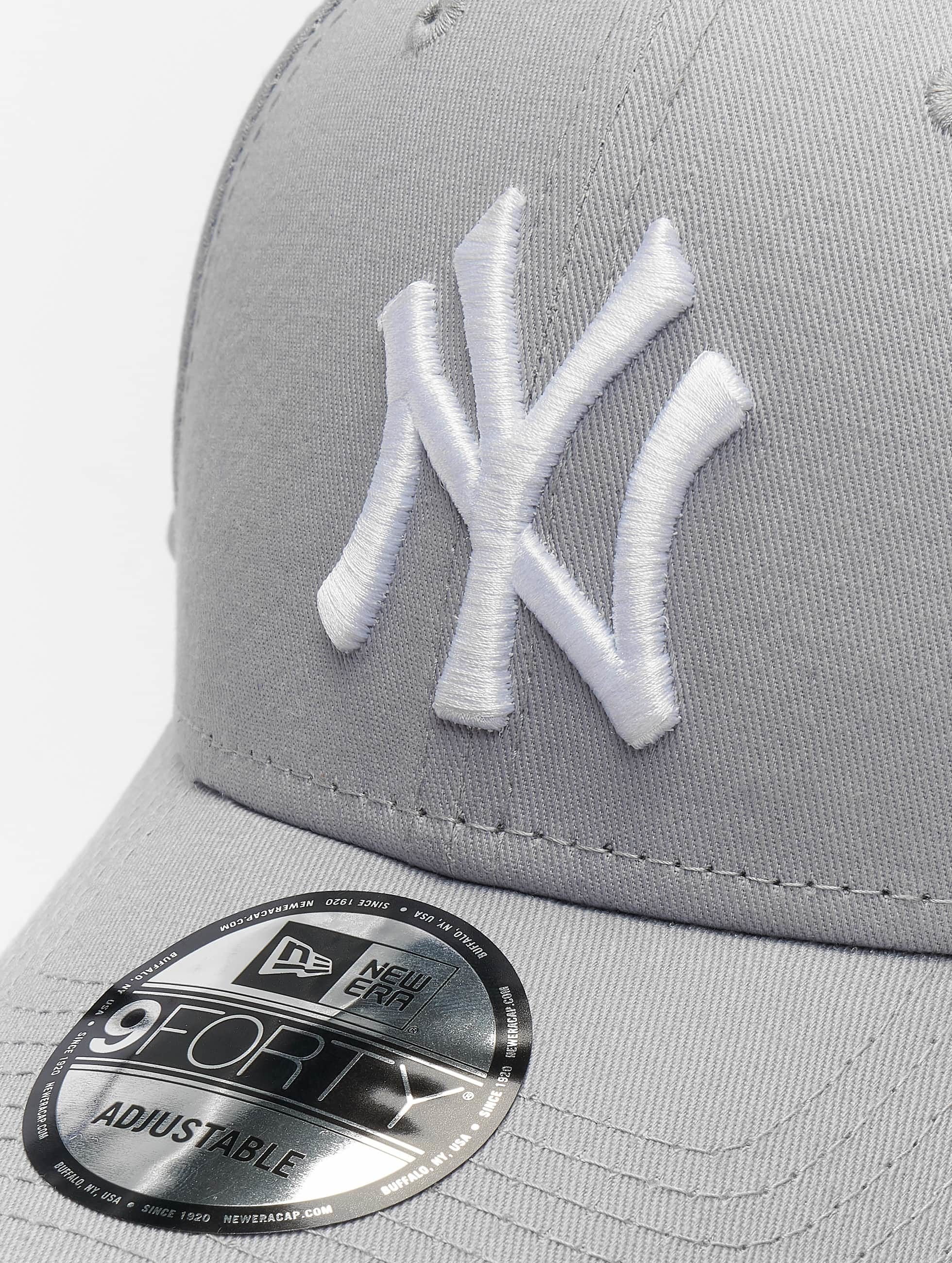 New Era Snapback Caps League Basic NY Yankees 9Forty harmaa