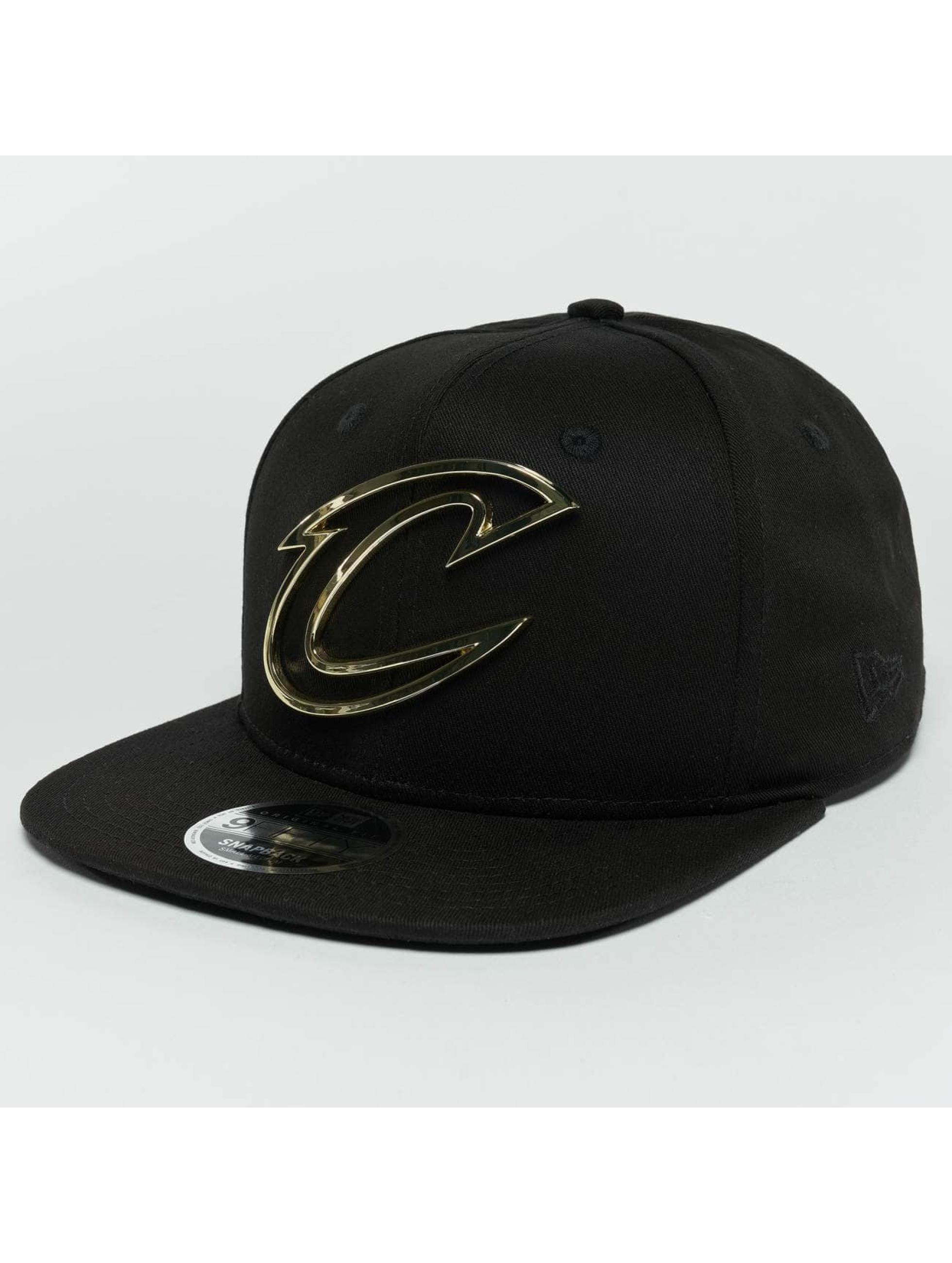 ee977d0be43 New Era Snapback Caps Metal Badge Cleveland Cavaliers musta