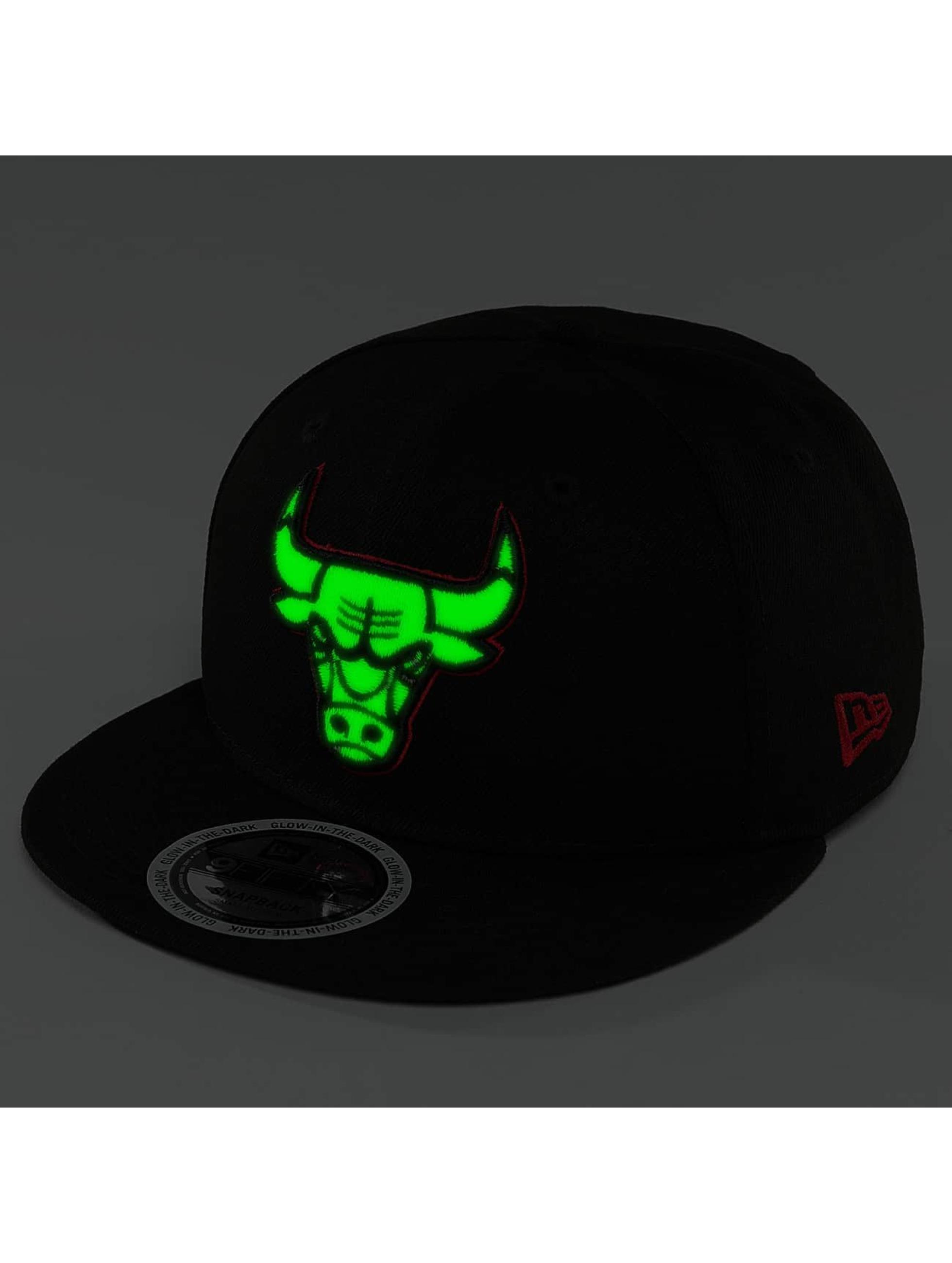 New Era Snapback Caps Team GITD Basic Chicago Bulls 9Fifty svart