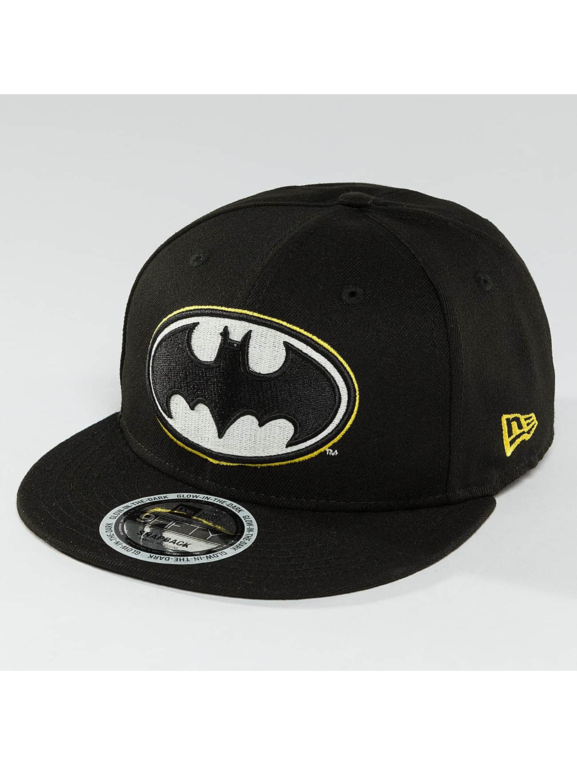 New Era Snapback Caps Team GITD Basic Batman 9Fifty svart