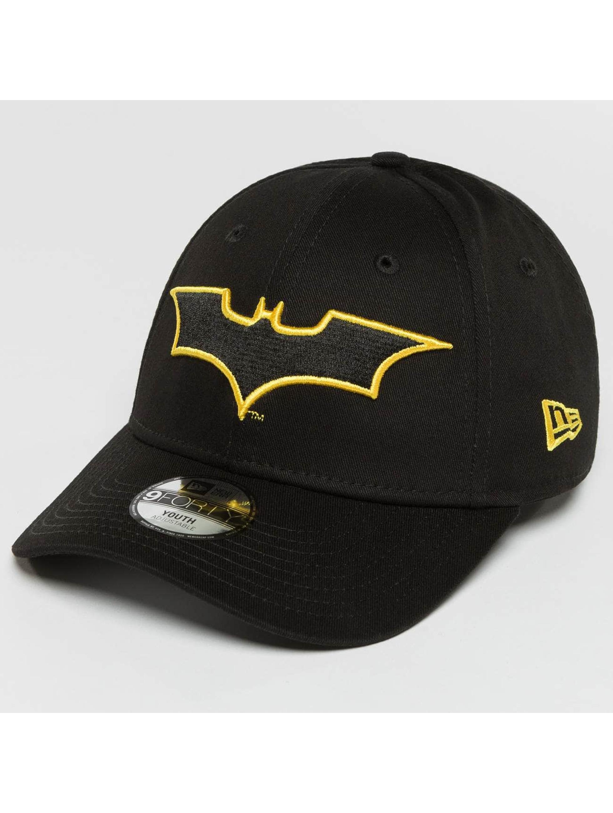 New Era Snapback Caps Charcoal OUTL Batman 9Forty svart