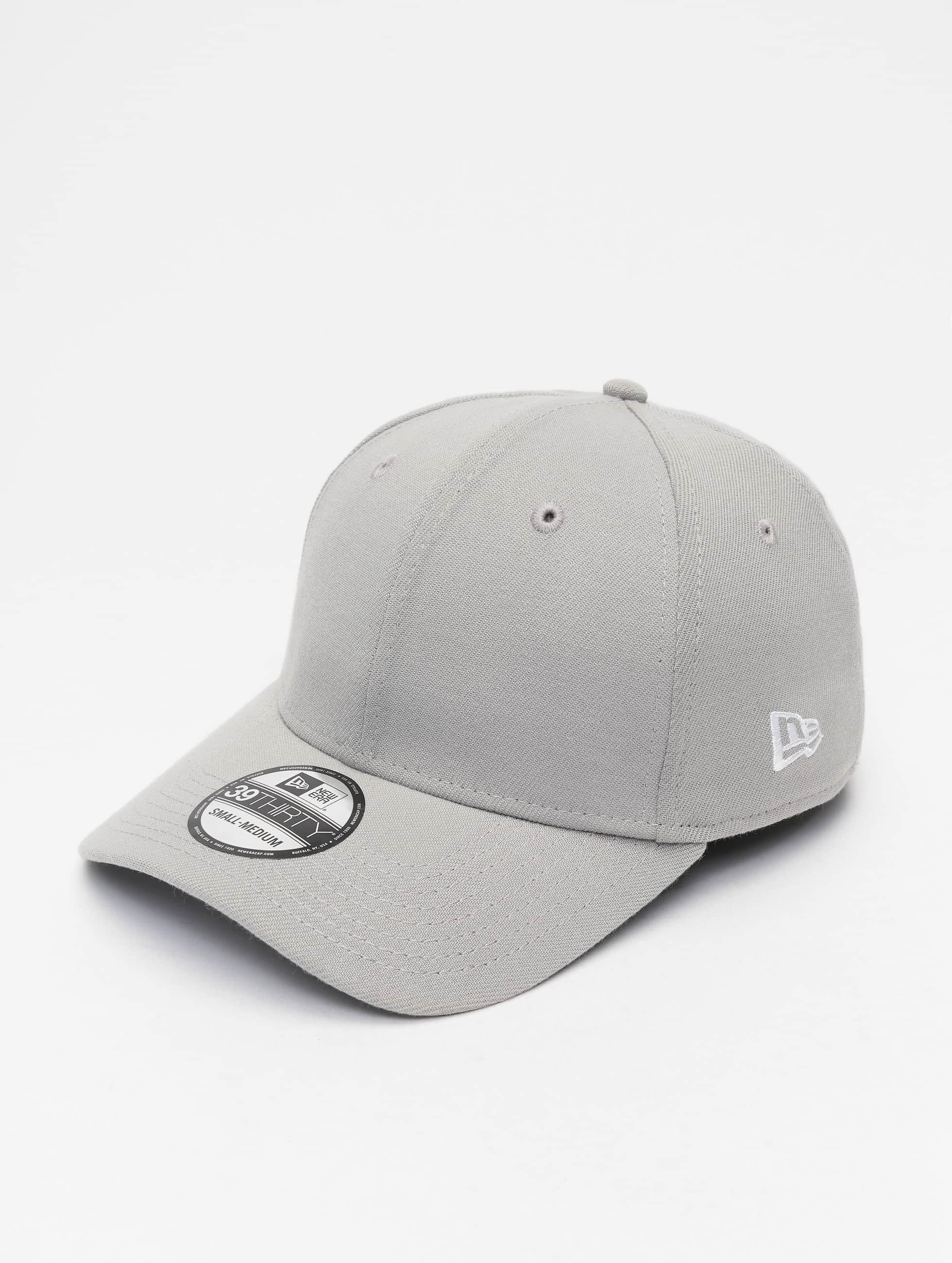 New Era Snapback Caps Basic szary