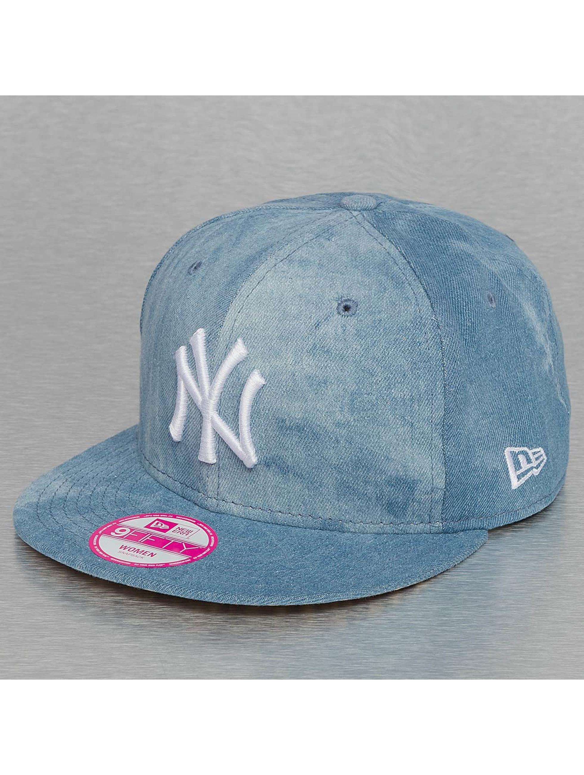 New Era Snapback Sum Wash Snap Ney York Yankees 9Fifty modrá