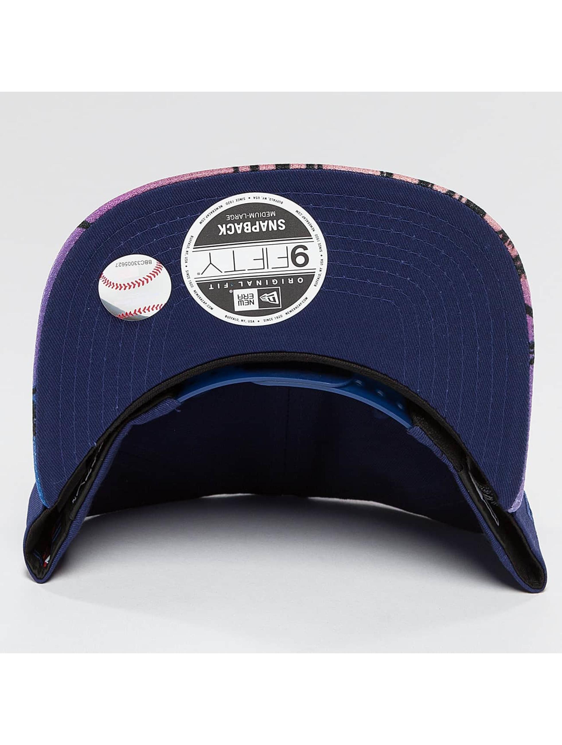 New Era Snapback West Coast Visor Print LA Dodgers modrá