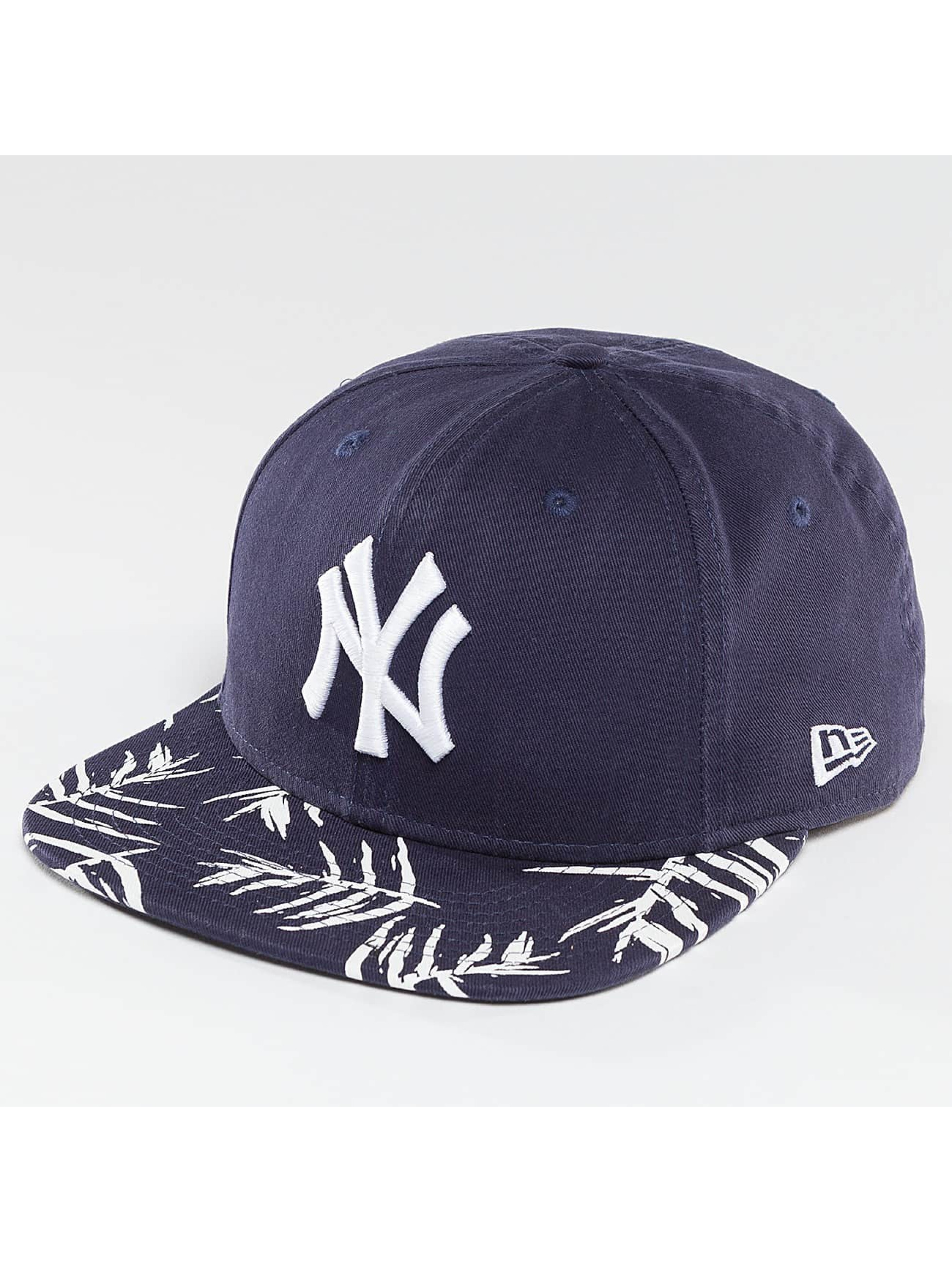 New Era Snapback Sandwash Visor Print NY Yankees modrá