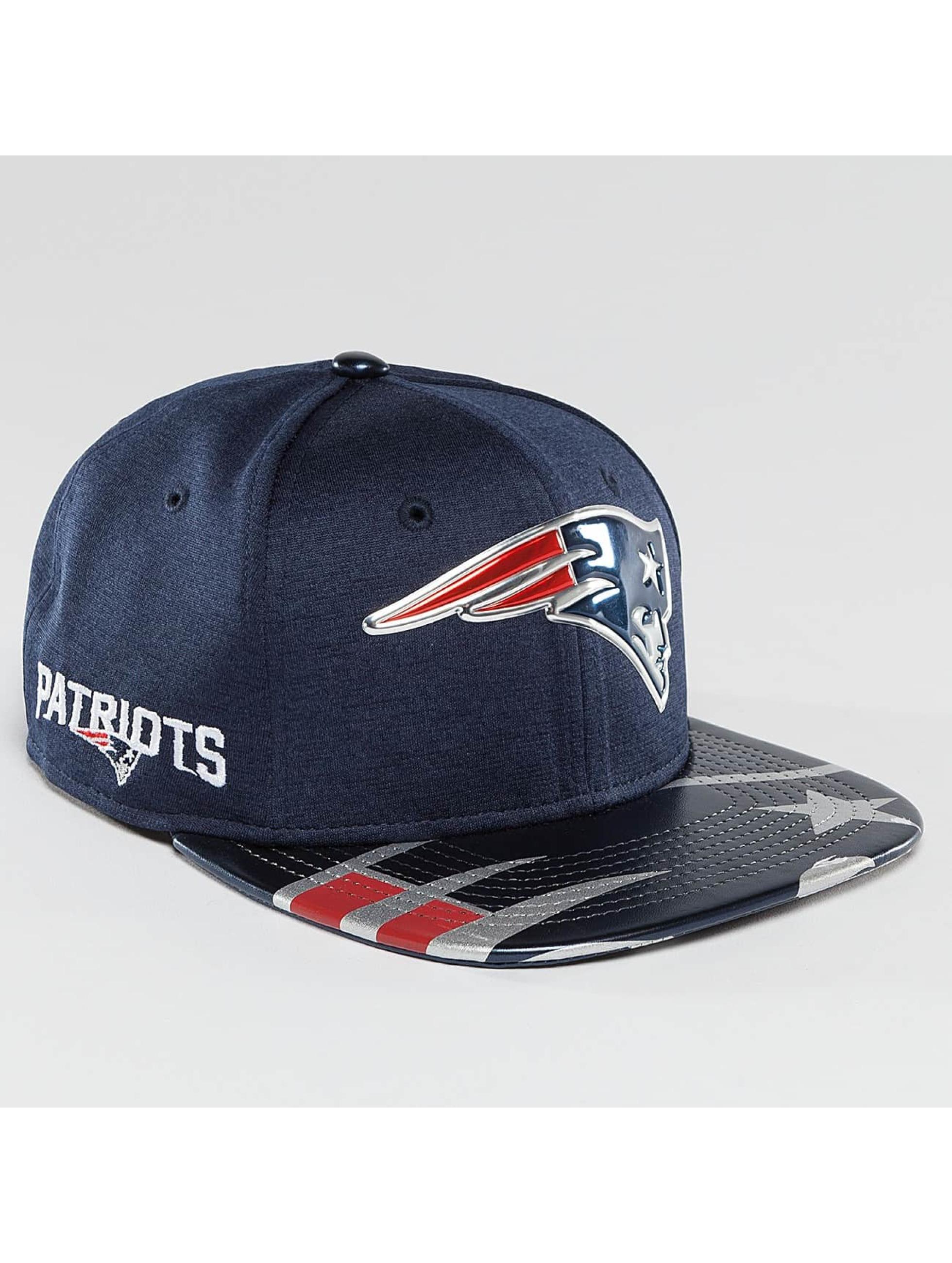 New Era Snapback NFL Offical On Stage New England Patriots 9Fifty modrá