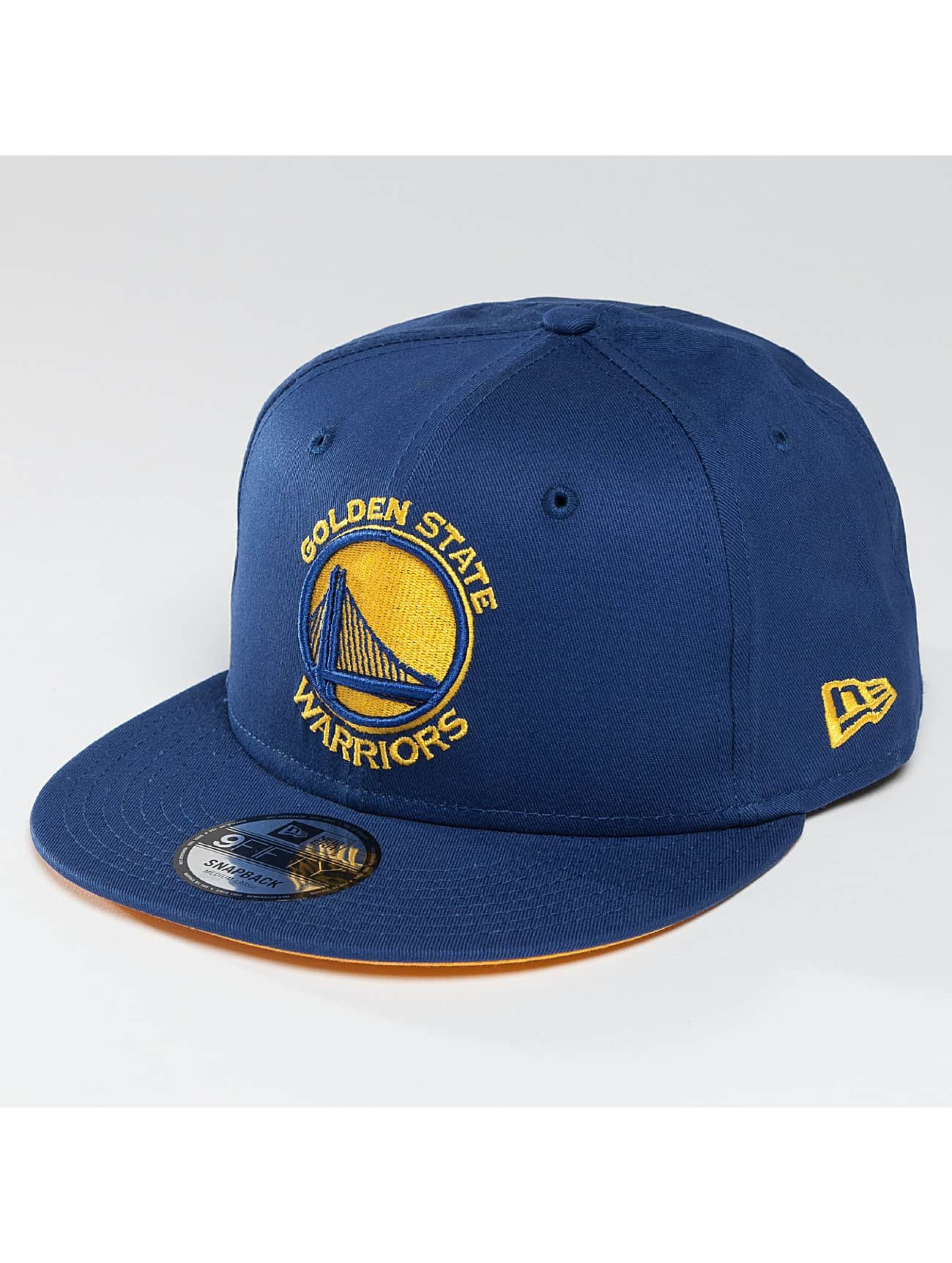 New Era Snapback Team Classic Golden Stae Warriors modrá