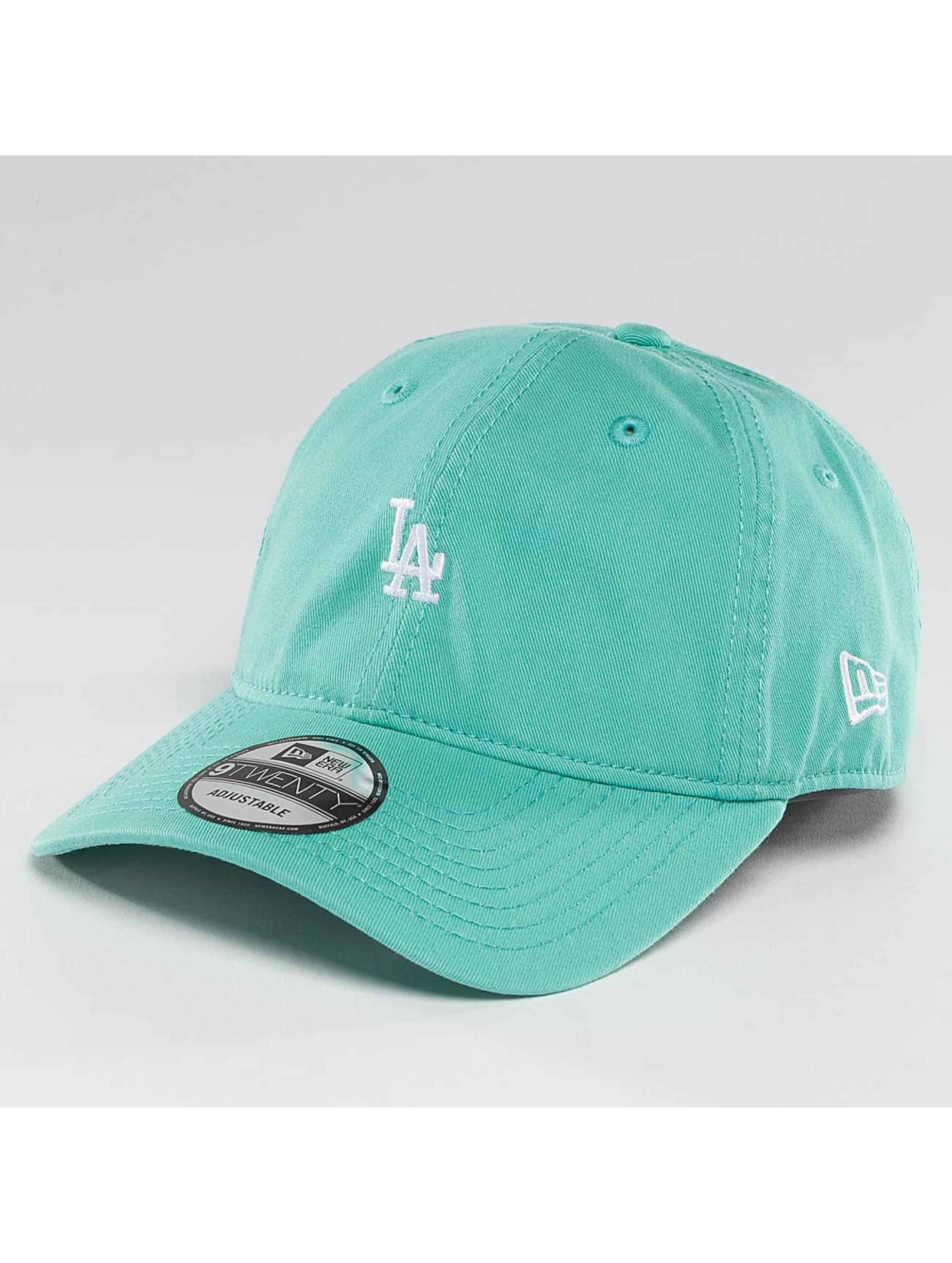 New Era Snapback Pastel Micro LA Dodgers 9Twenty tyrkysová