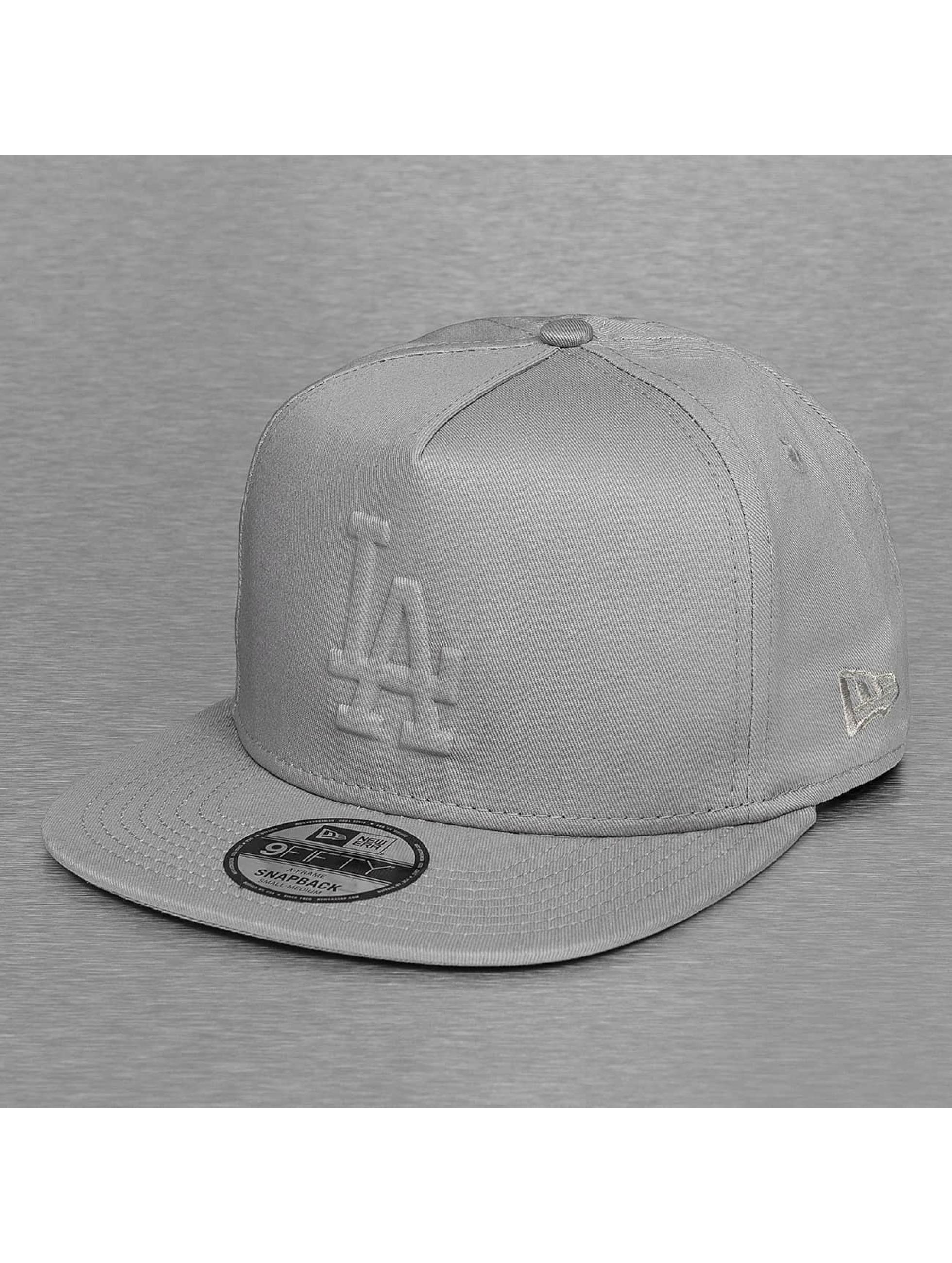 New Era Snapbackkeps Tonal Gel Fill LA Dodgers grå