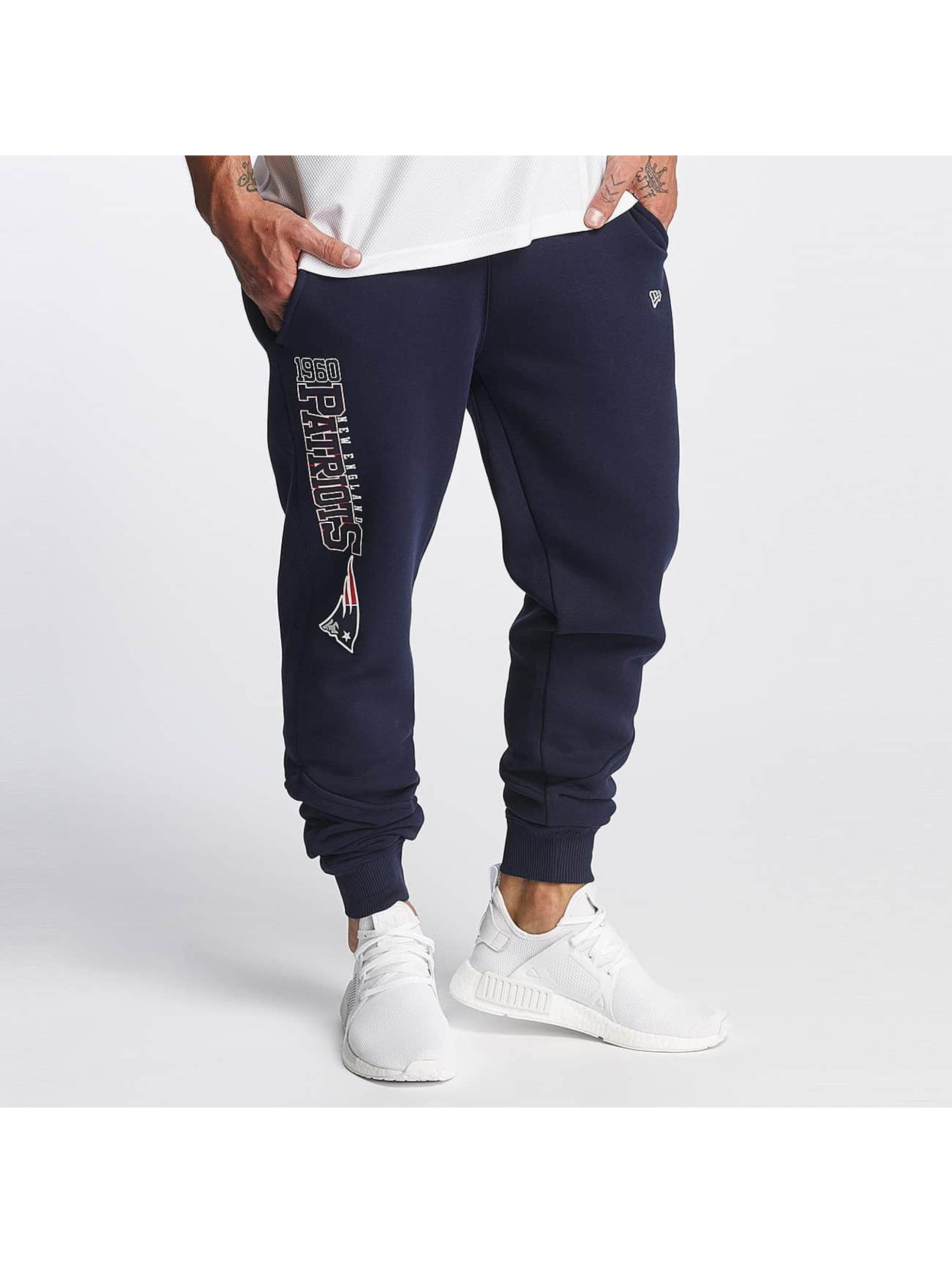 New Era Spodnie do joggingu Wordmark New England Patriots Tracker niebieski