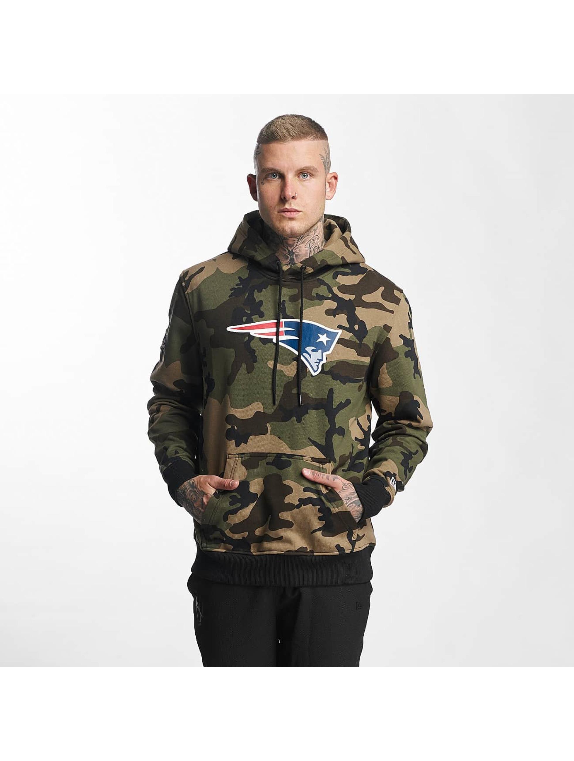 New Era Sudadera Woodland New England Patriots camuflaje