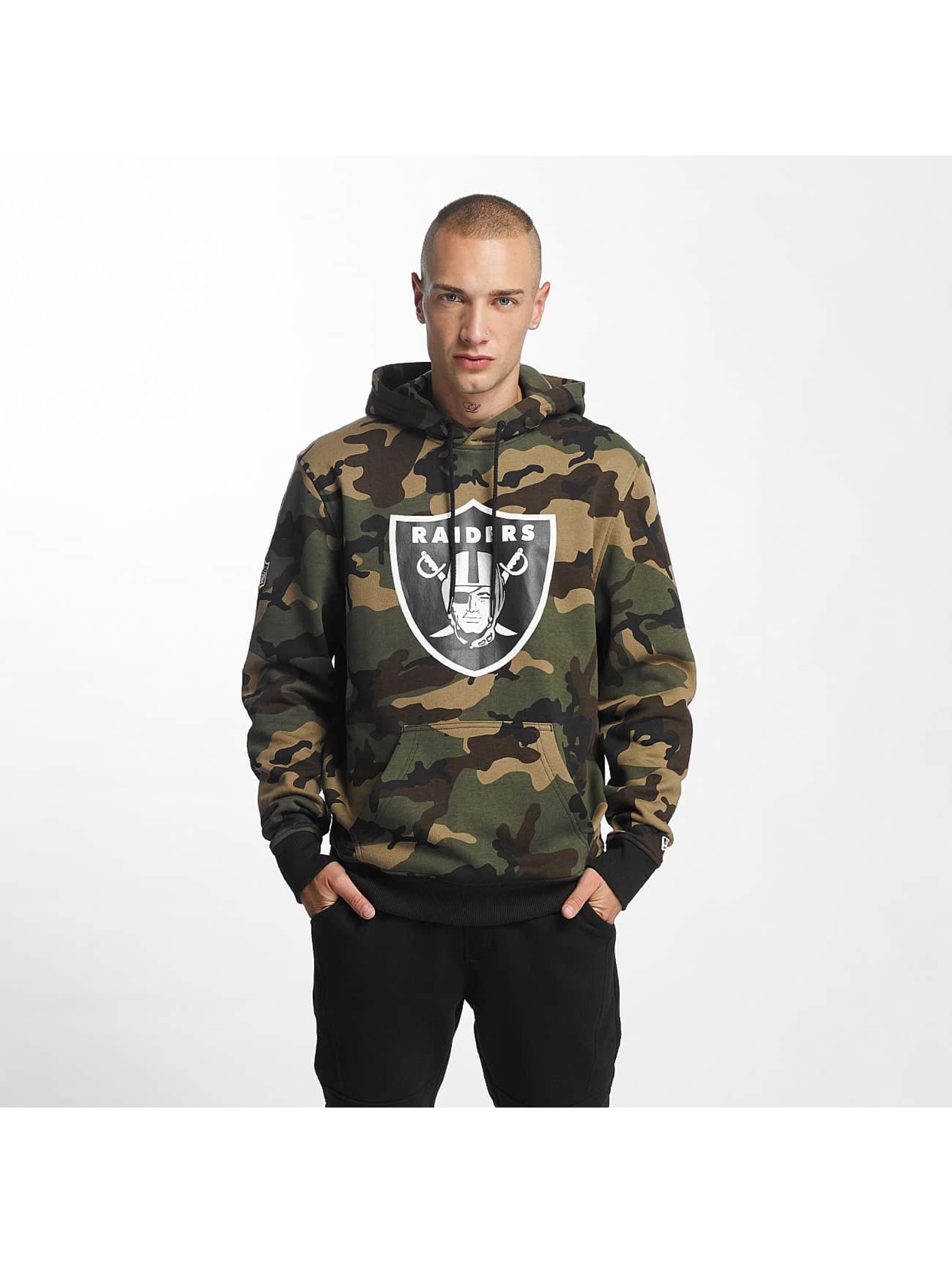 New Era Sudadera Woodland Oakland Raiders camuflaje