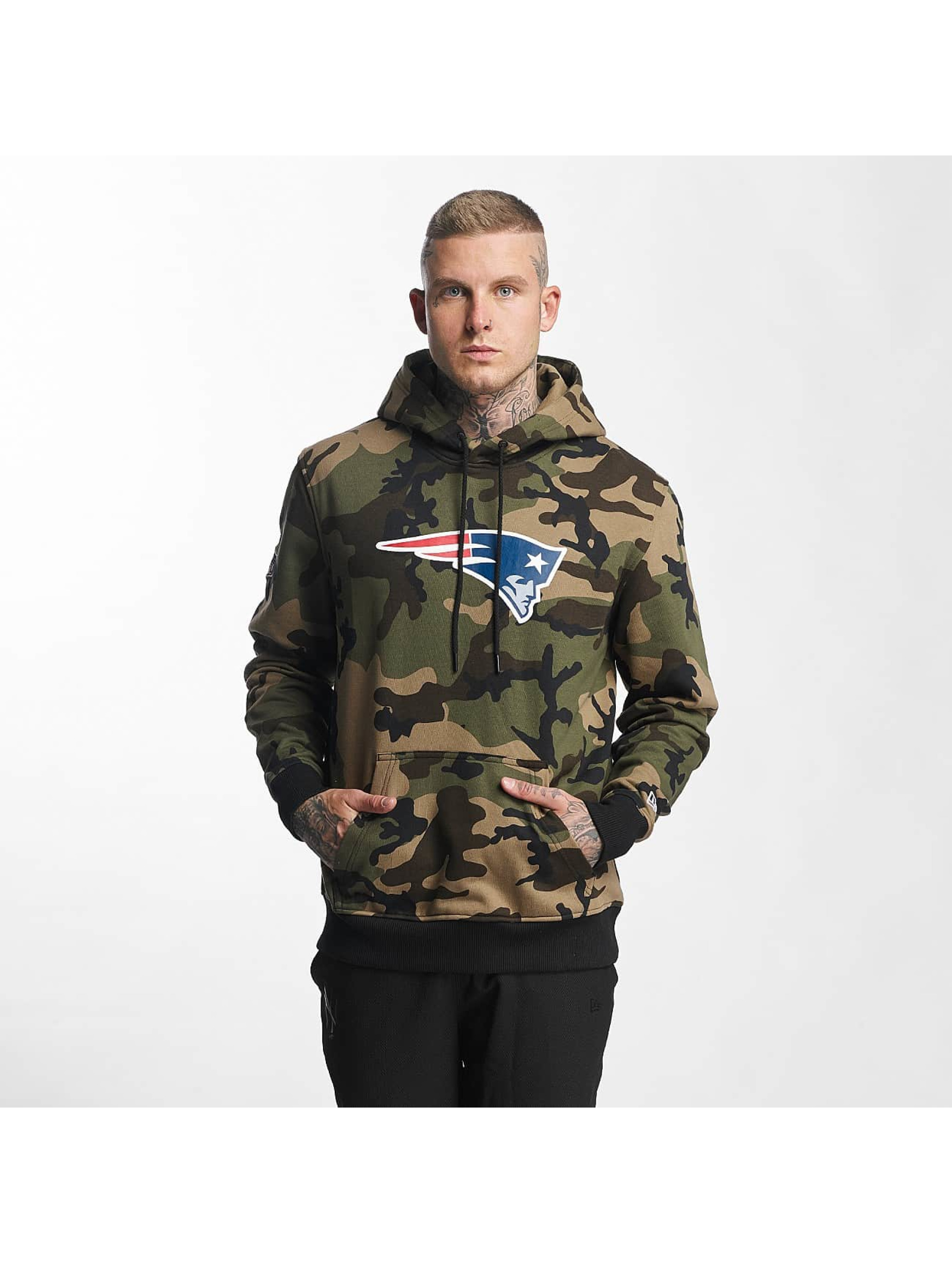 New Era Sweat capuche Woodland New England Patriots camouflage