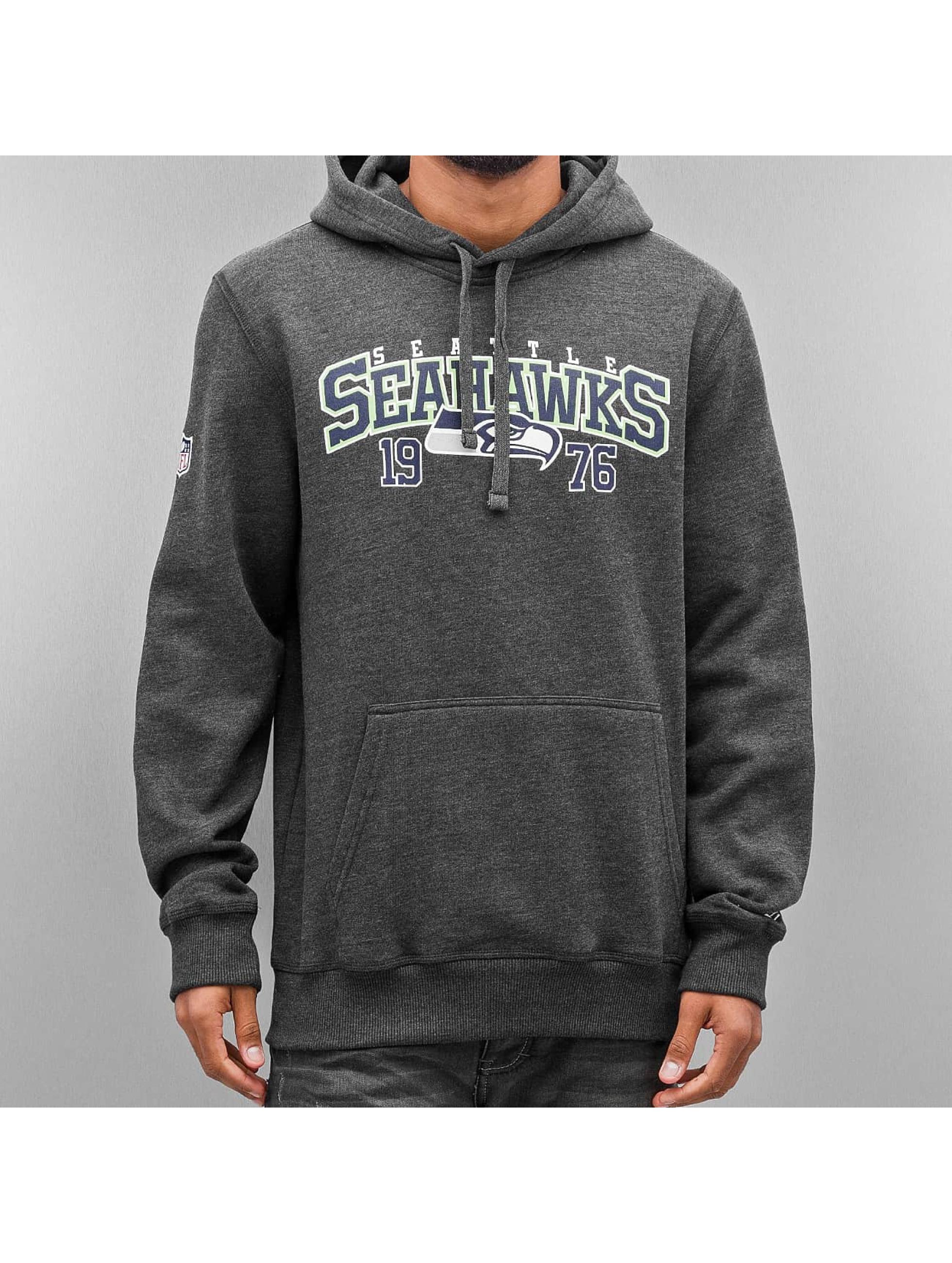 New Era Sweat capuche Team Wordmark Seattle Seahawks gris