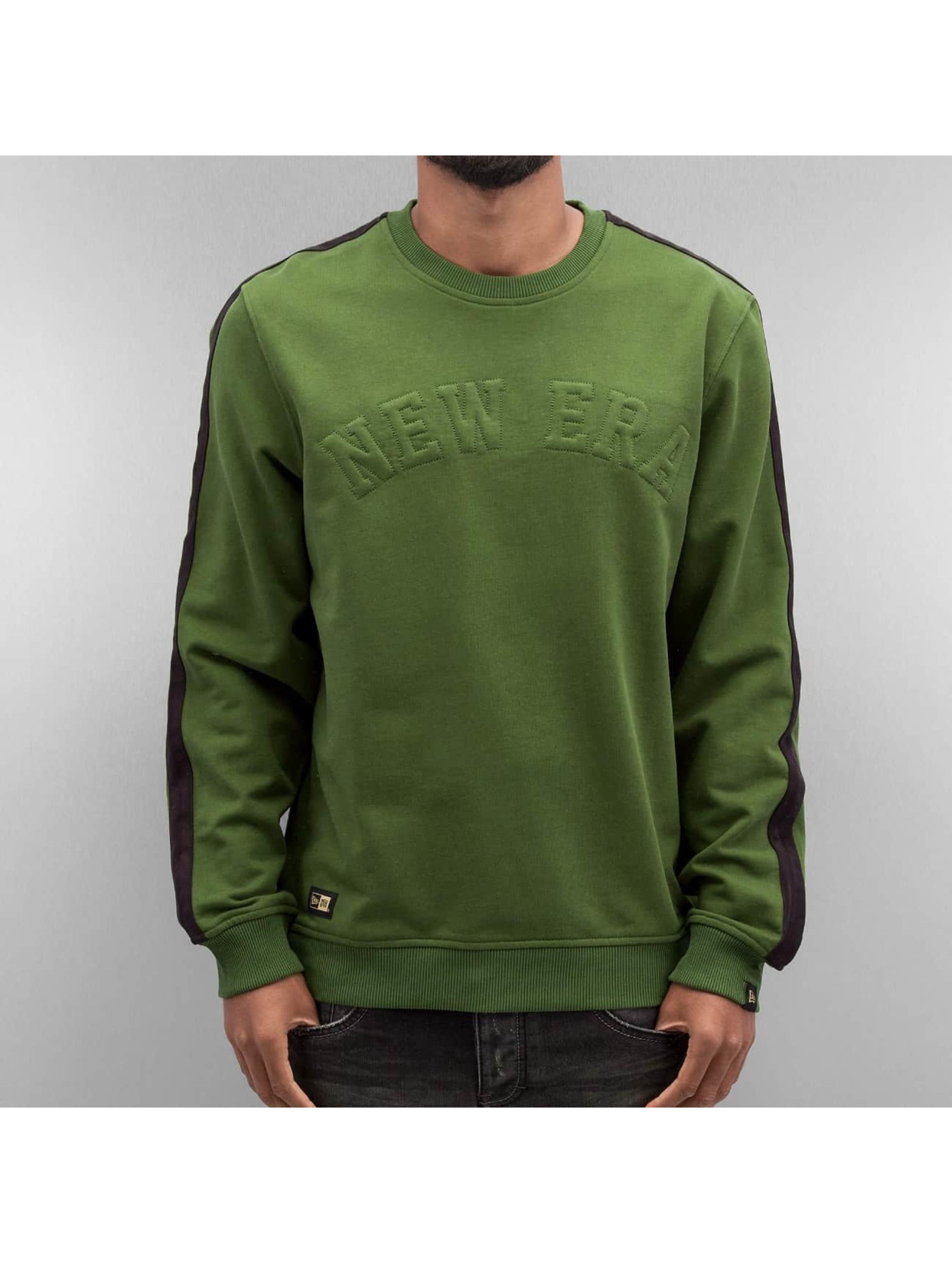 New Era Swetry Crafted zielony