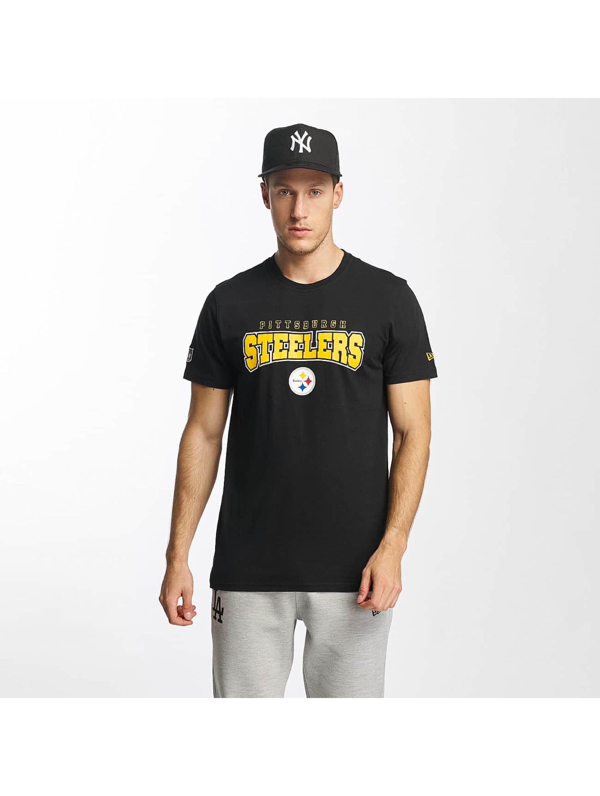 New Era T-Shirt NFL Ultra Fan Pittsburgh Steelers black