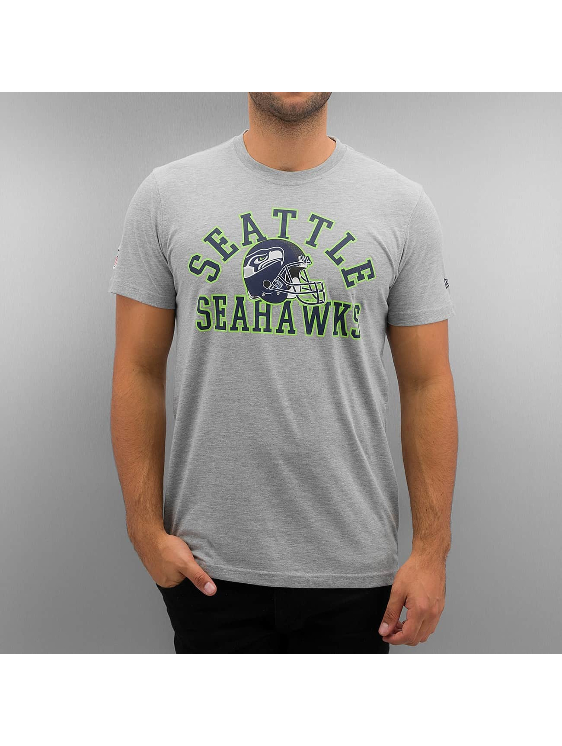 New Era T-shirt NFL Seattle Seahawks College grå