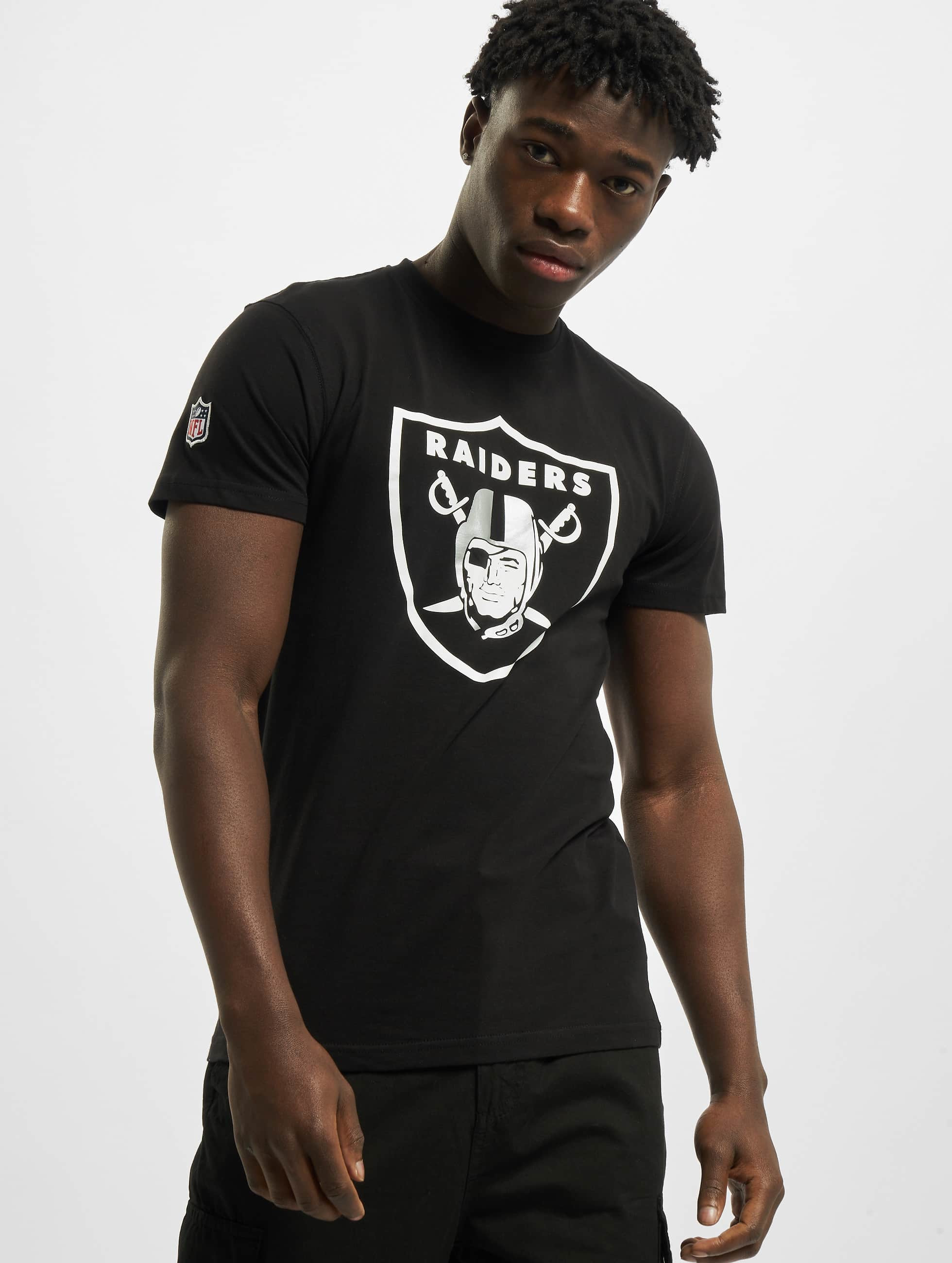 New Era T-Shirt Team Logo Oakland Raiders noir