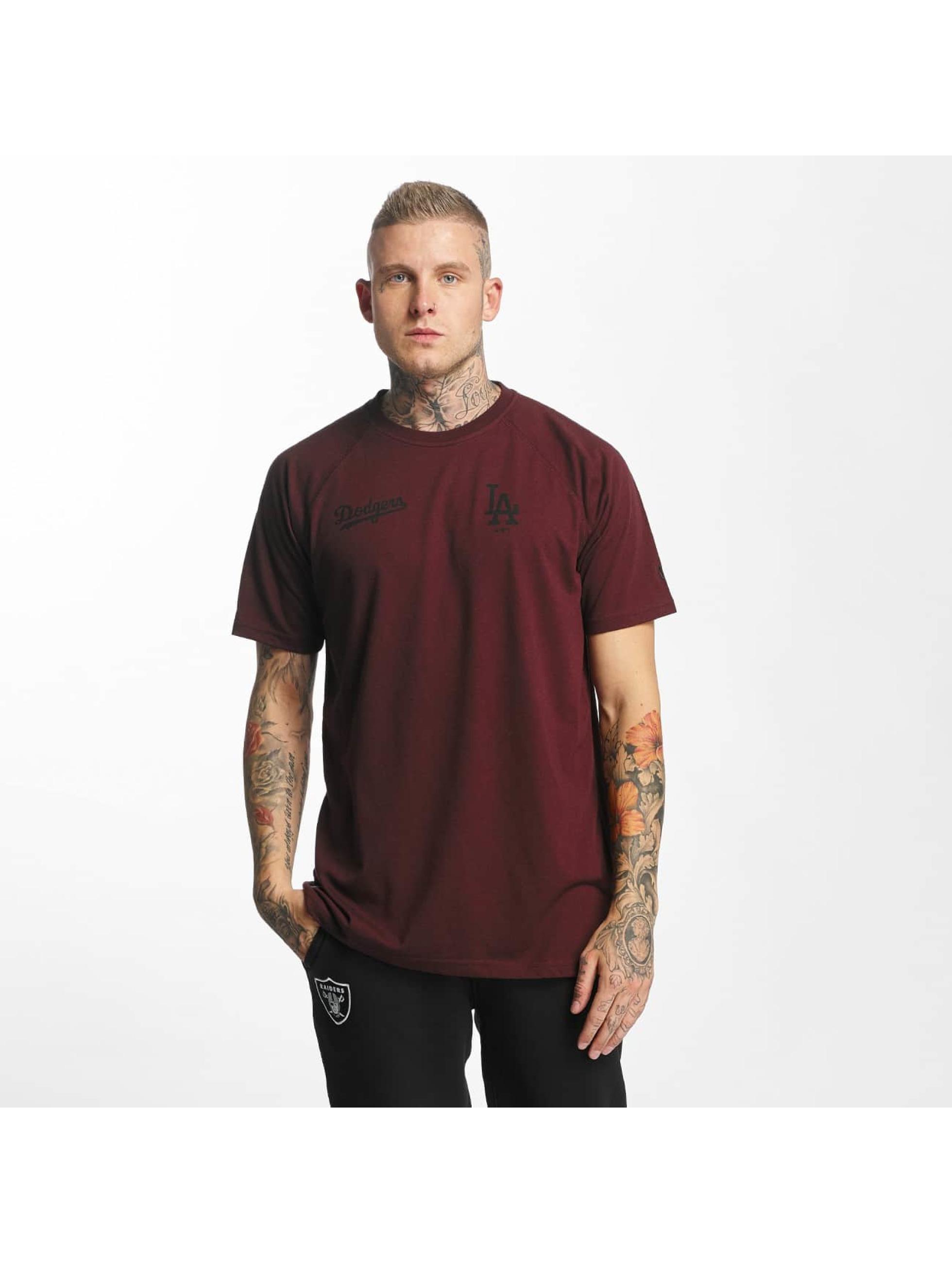 New Era T-Shirt Tech Series LA Dodgers red