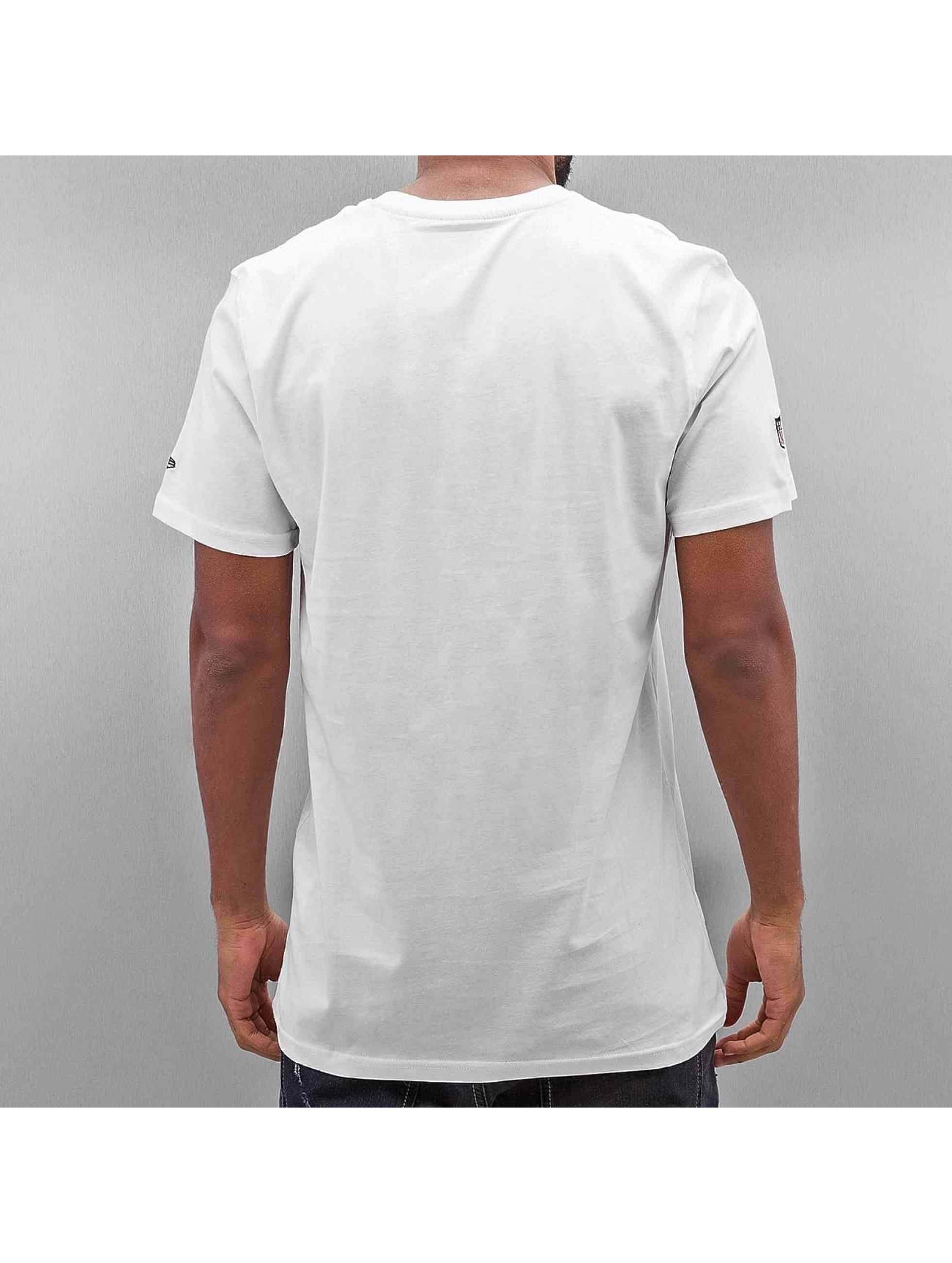 New Era T-Shirt NFL Quarterback Splash New England Patriots white