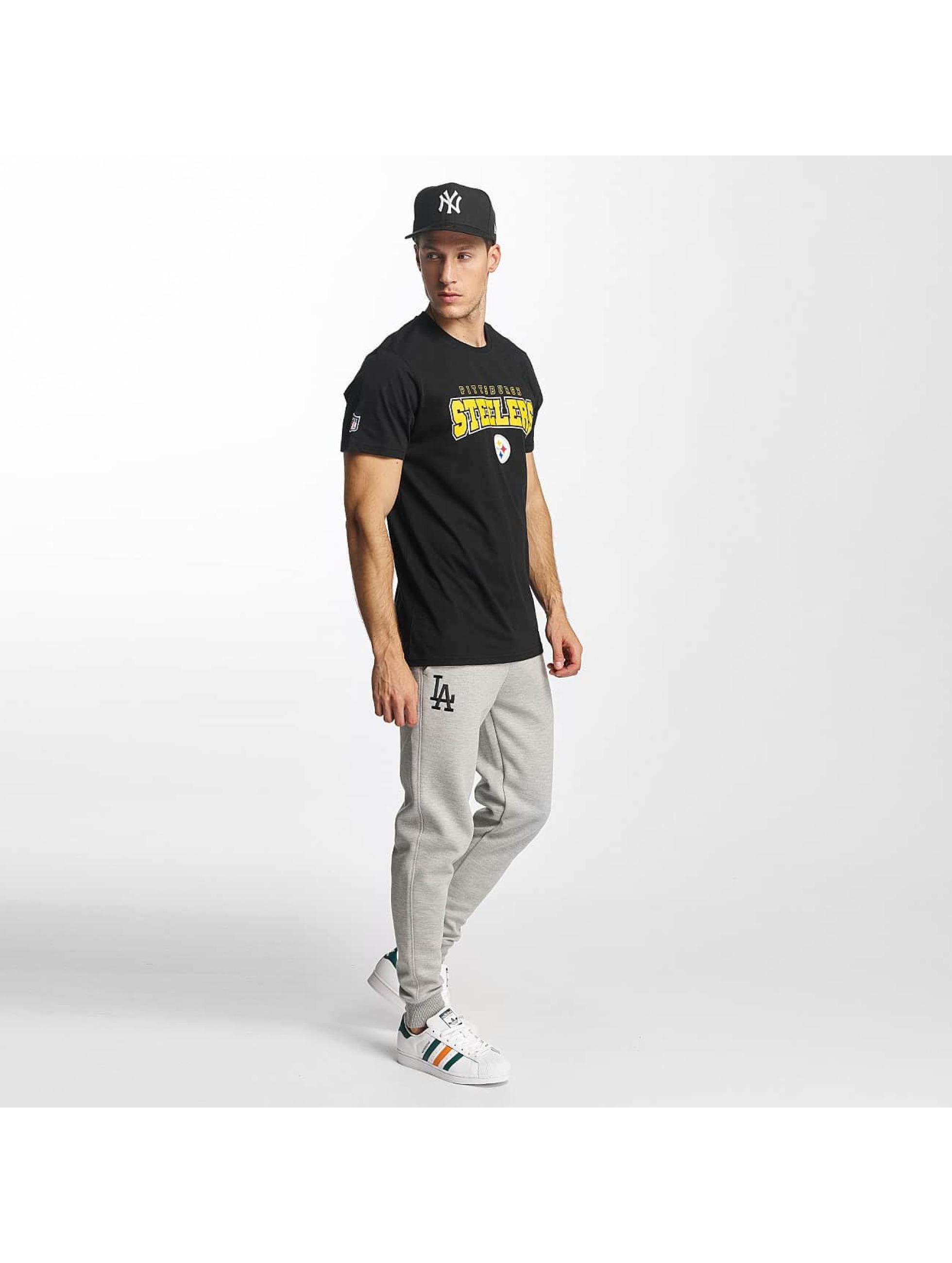 New Era T-Shirty NFL Ultra Fan Pittsburgh Steelers czarny