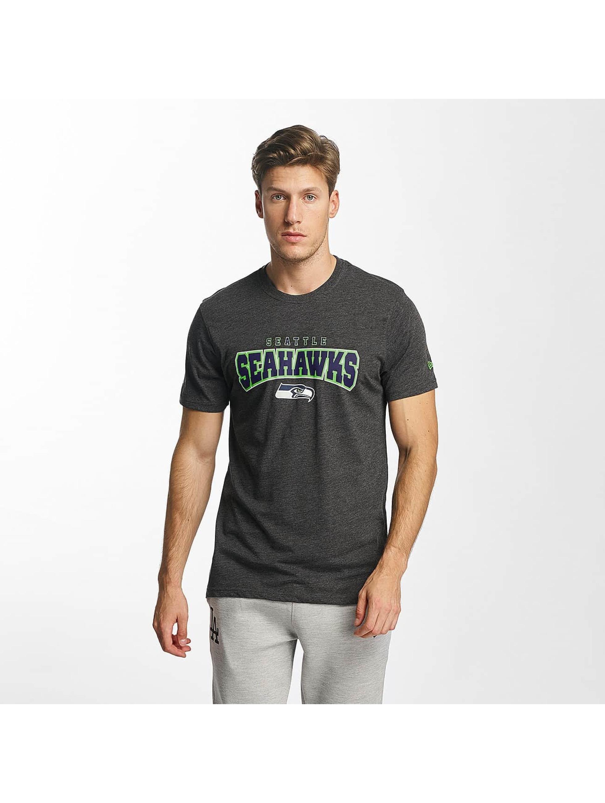 New Era T-Shirty NFL Ultra Fan Seattle Seahawks szary