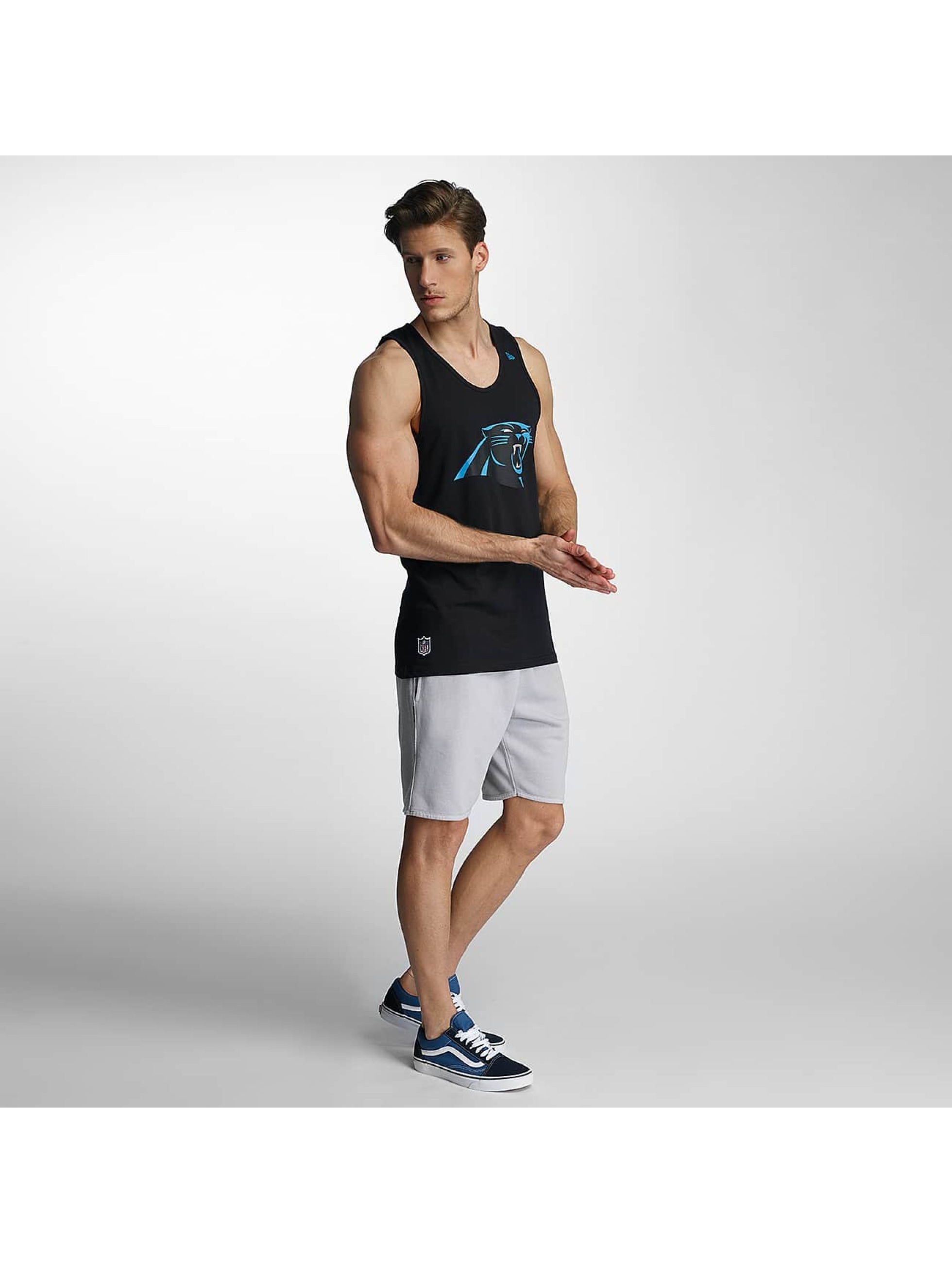 New Era Tank Tops Team App Carolina Panthers Logo èierna