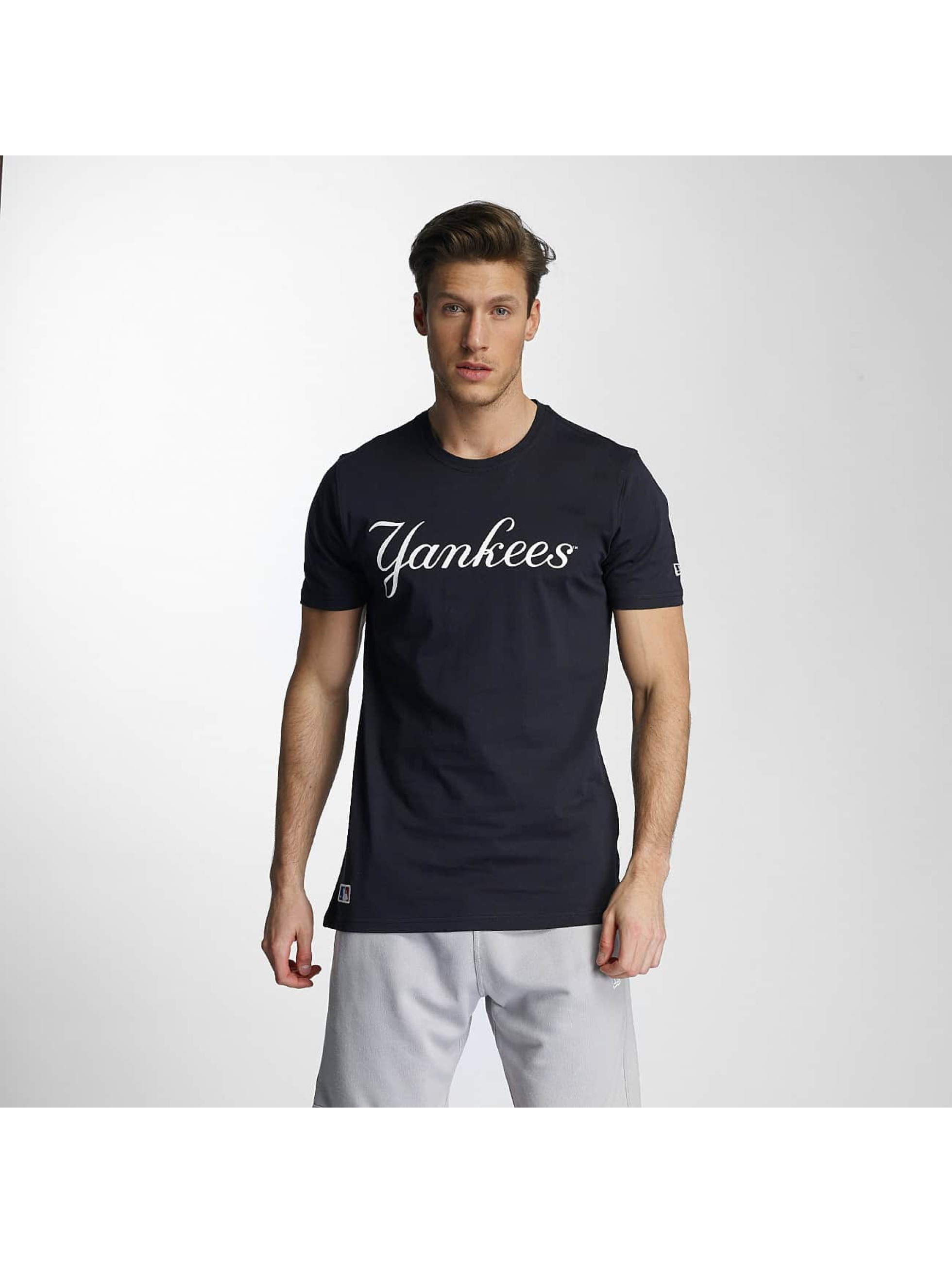 New Era Tričká Team App NY Yankees Classic modrá