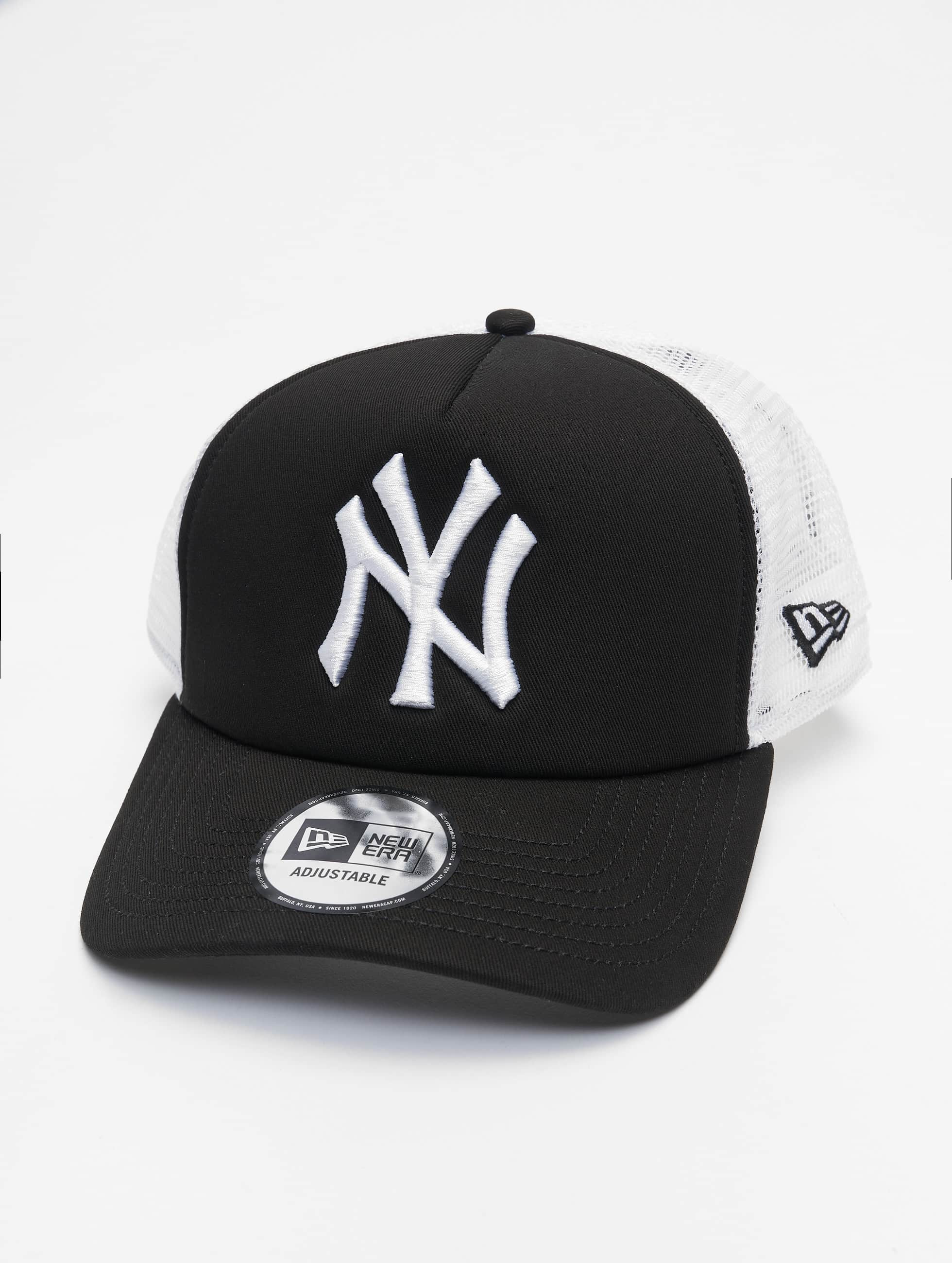 New Era trucker cap Clean - zwart