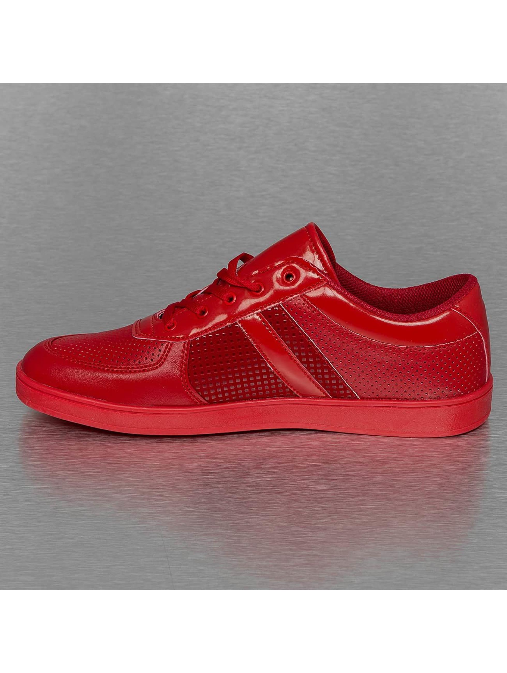 New York Style Сникеры Perforated Pattern красный
