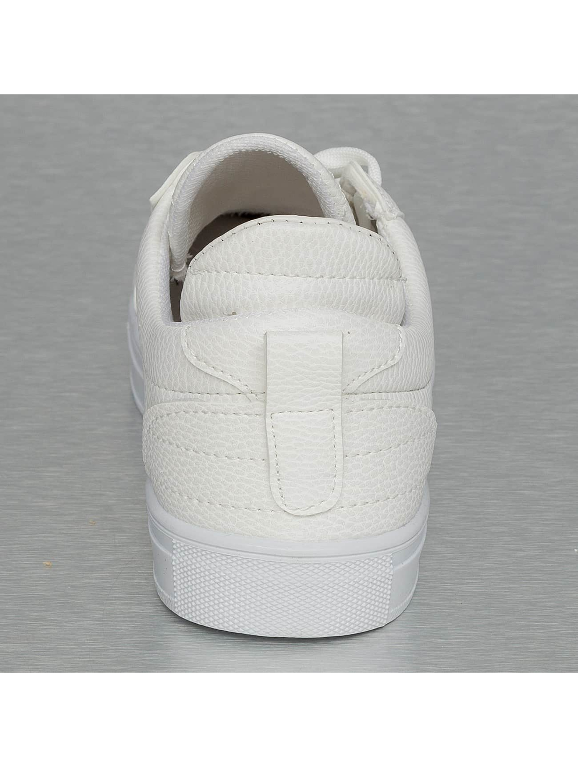 New York Style Baskets Low Top blanc