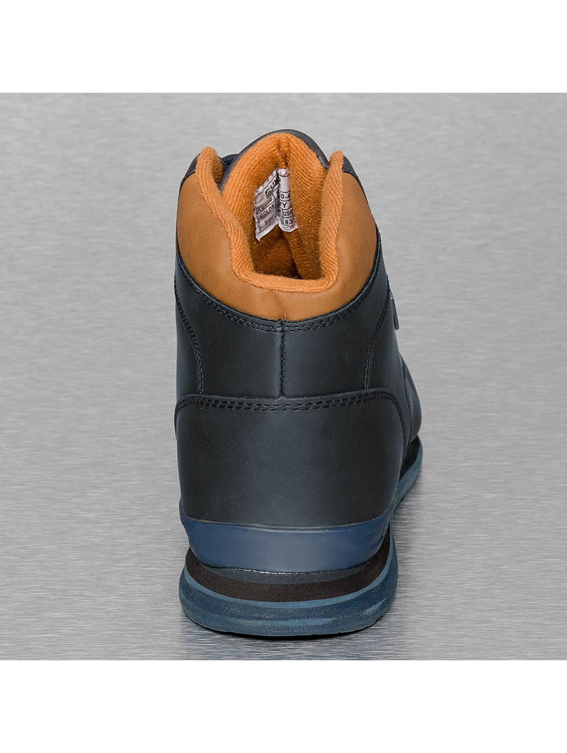 New York Style Baskets Garland bleu