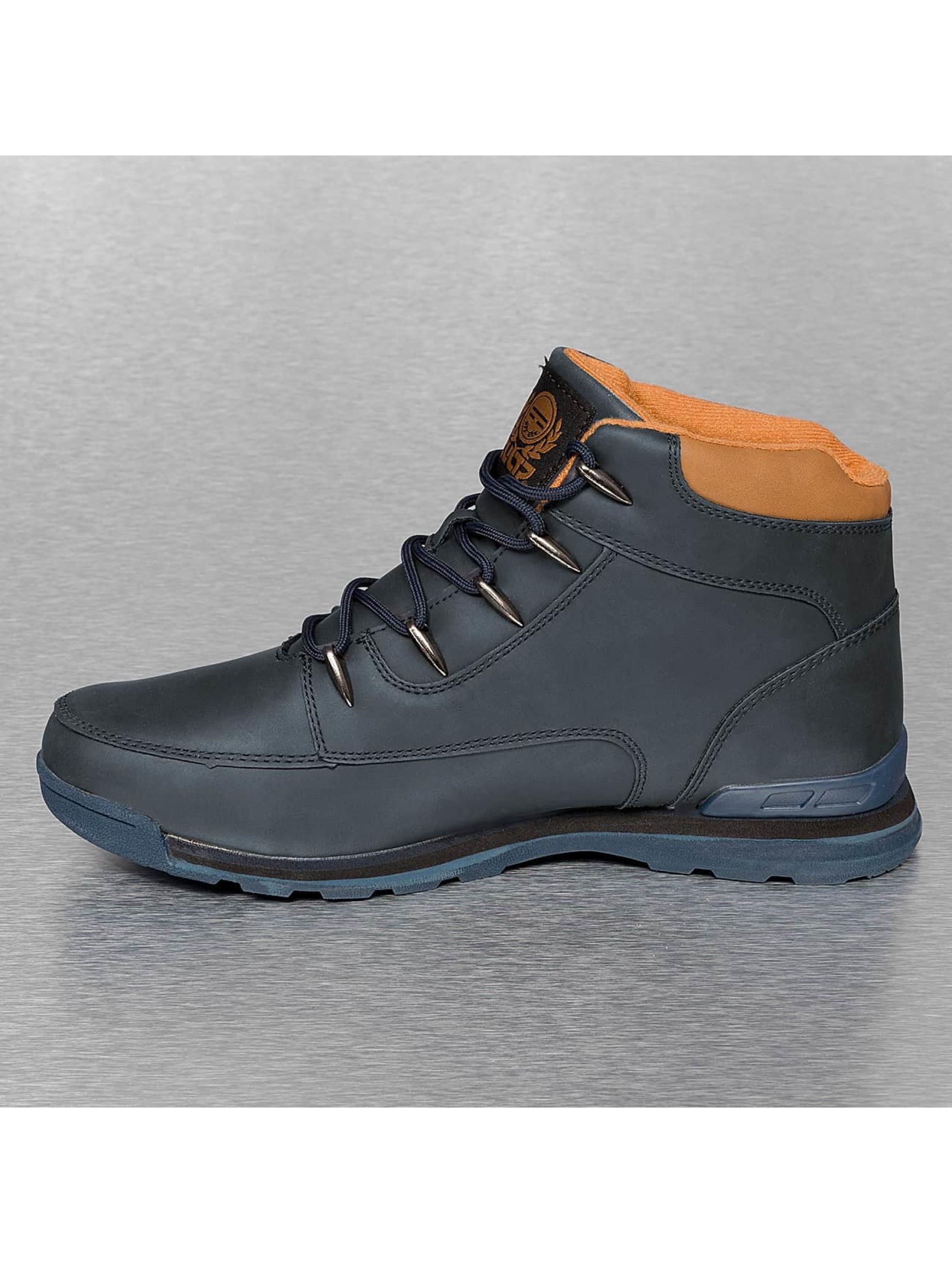 New York Style Sneaker Garland blau