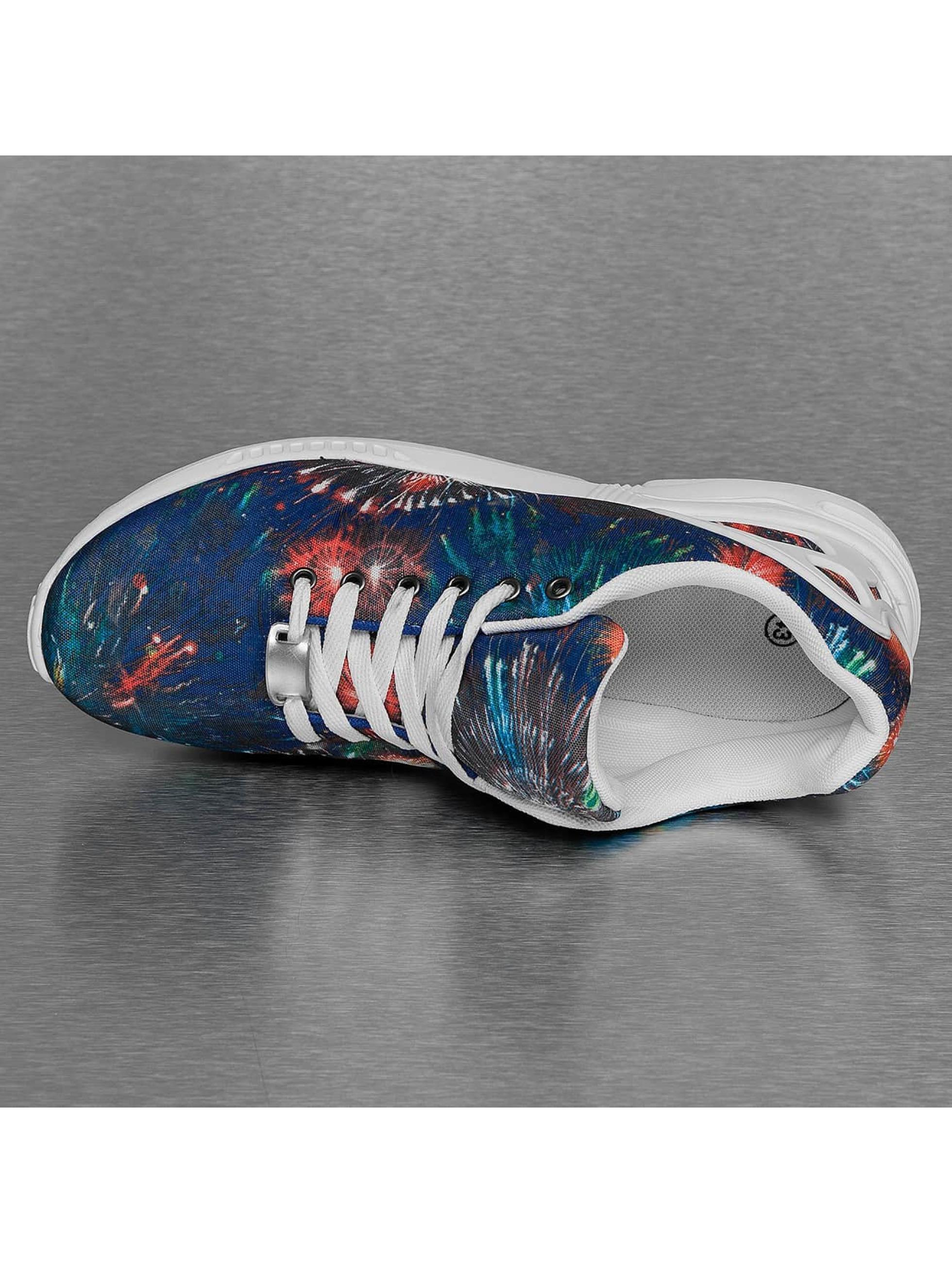 New York Style Sneaker Low Top blau