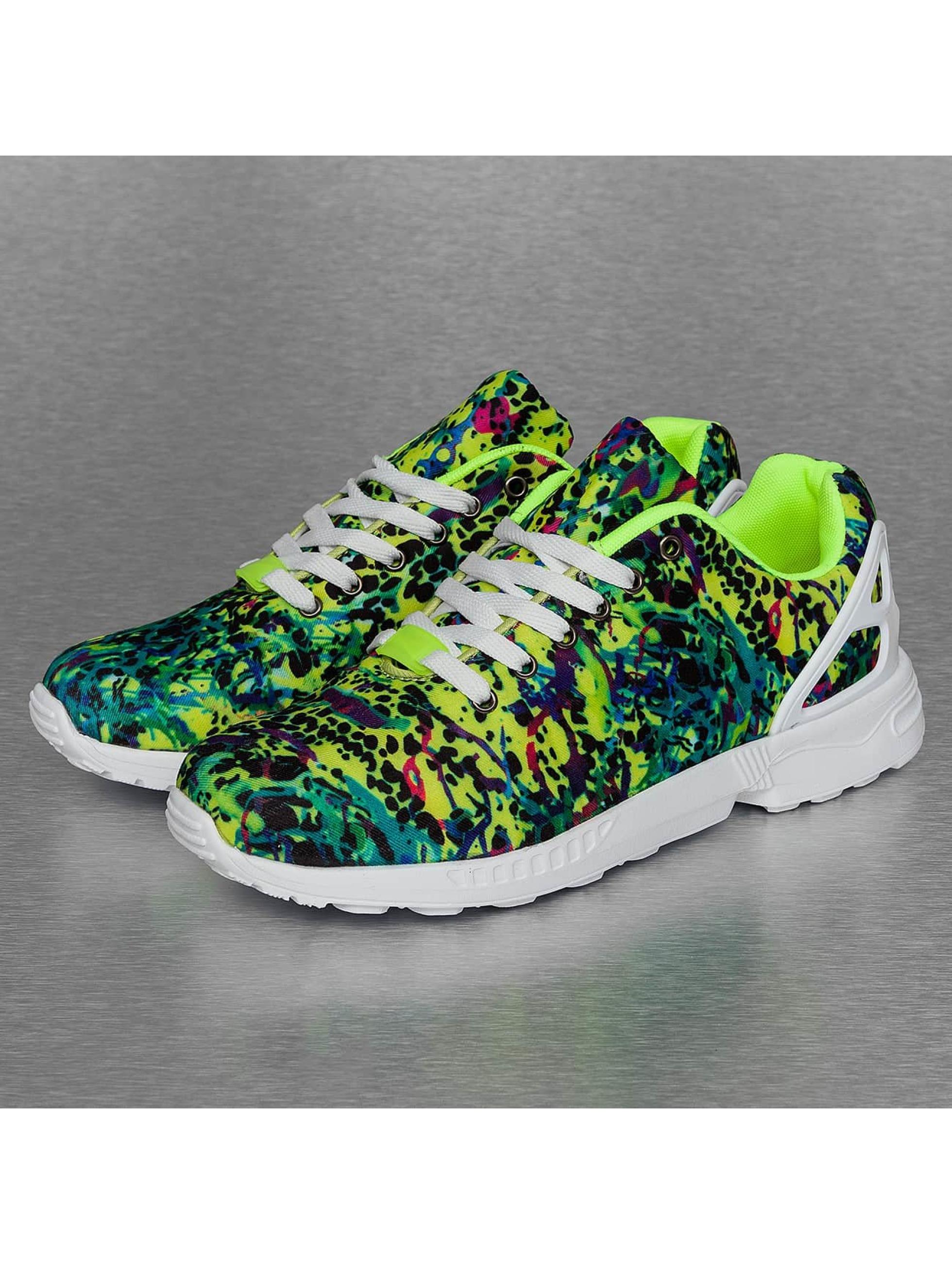 New York Style sneaker Low Top groen