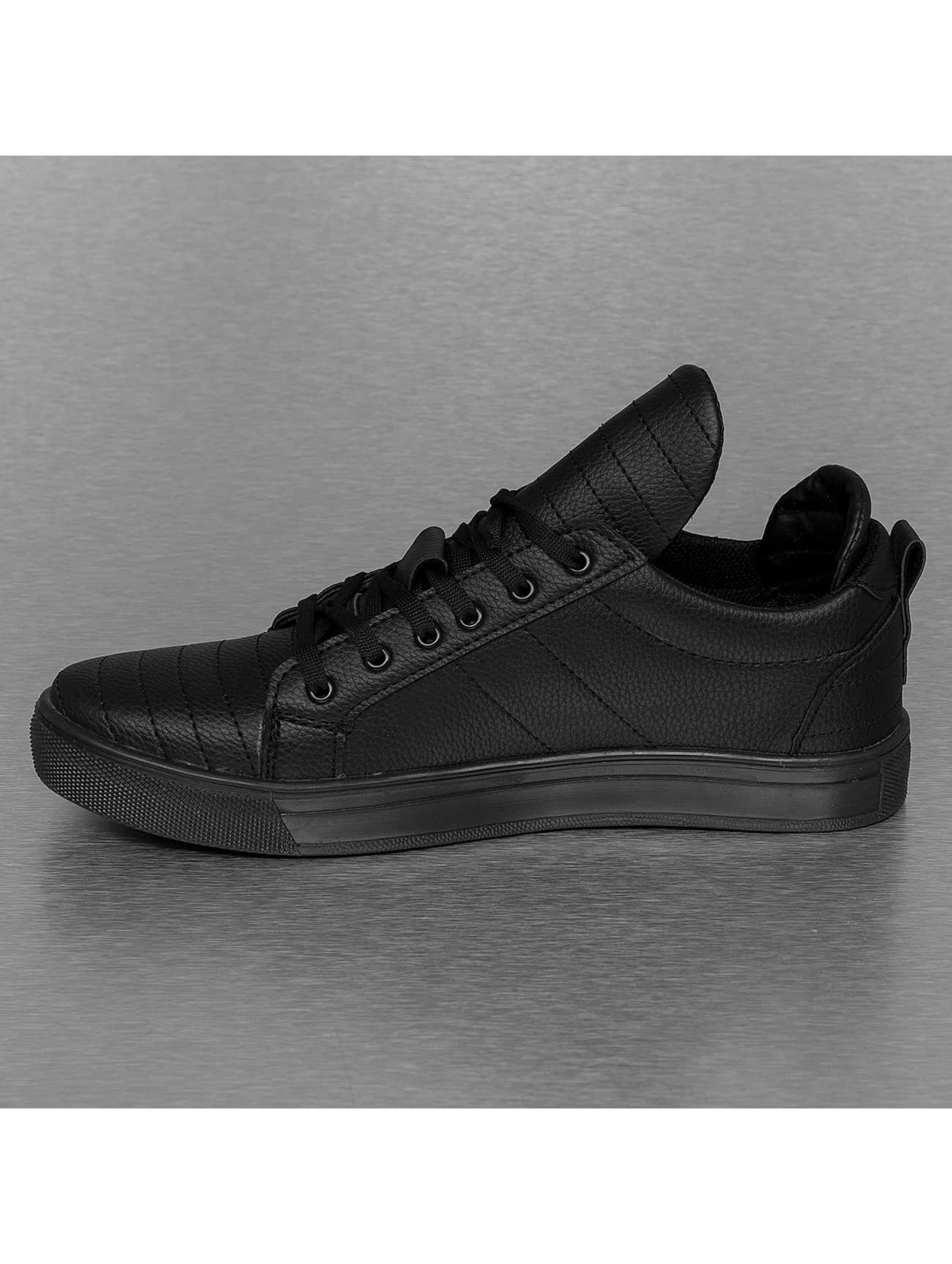 New York Style Sneaker Quilt schwarz