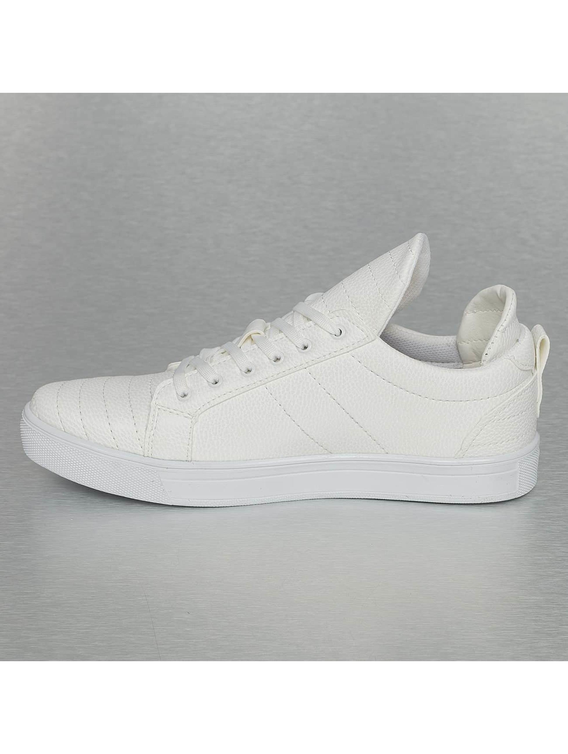 New York Style Sneaker Low Top weiß