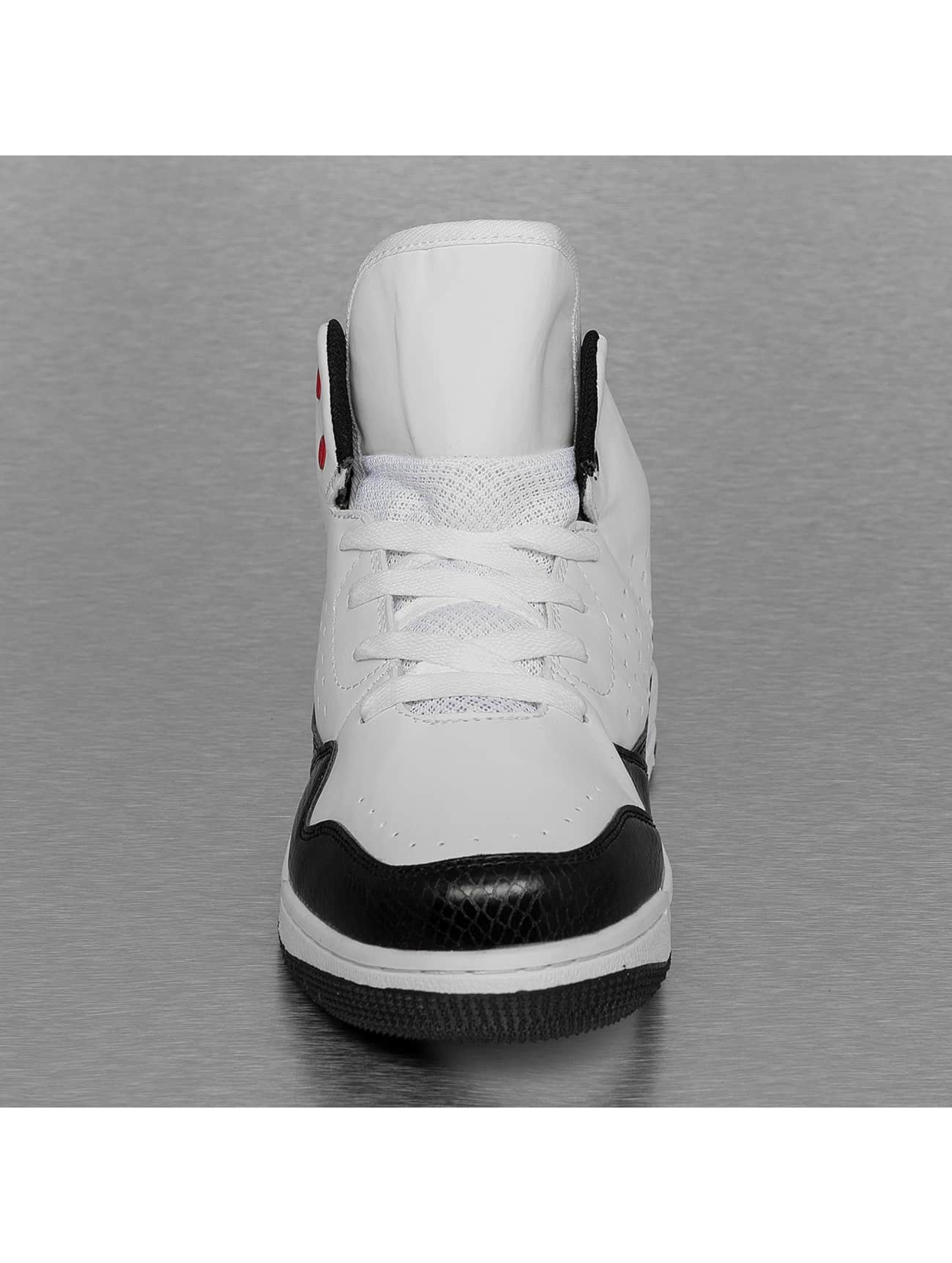 New York Style Sneakers Mid Top bialy