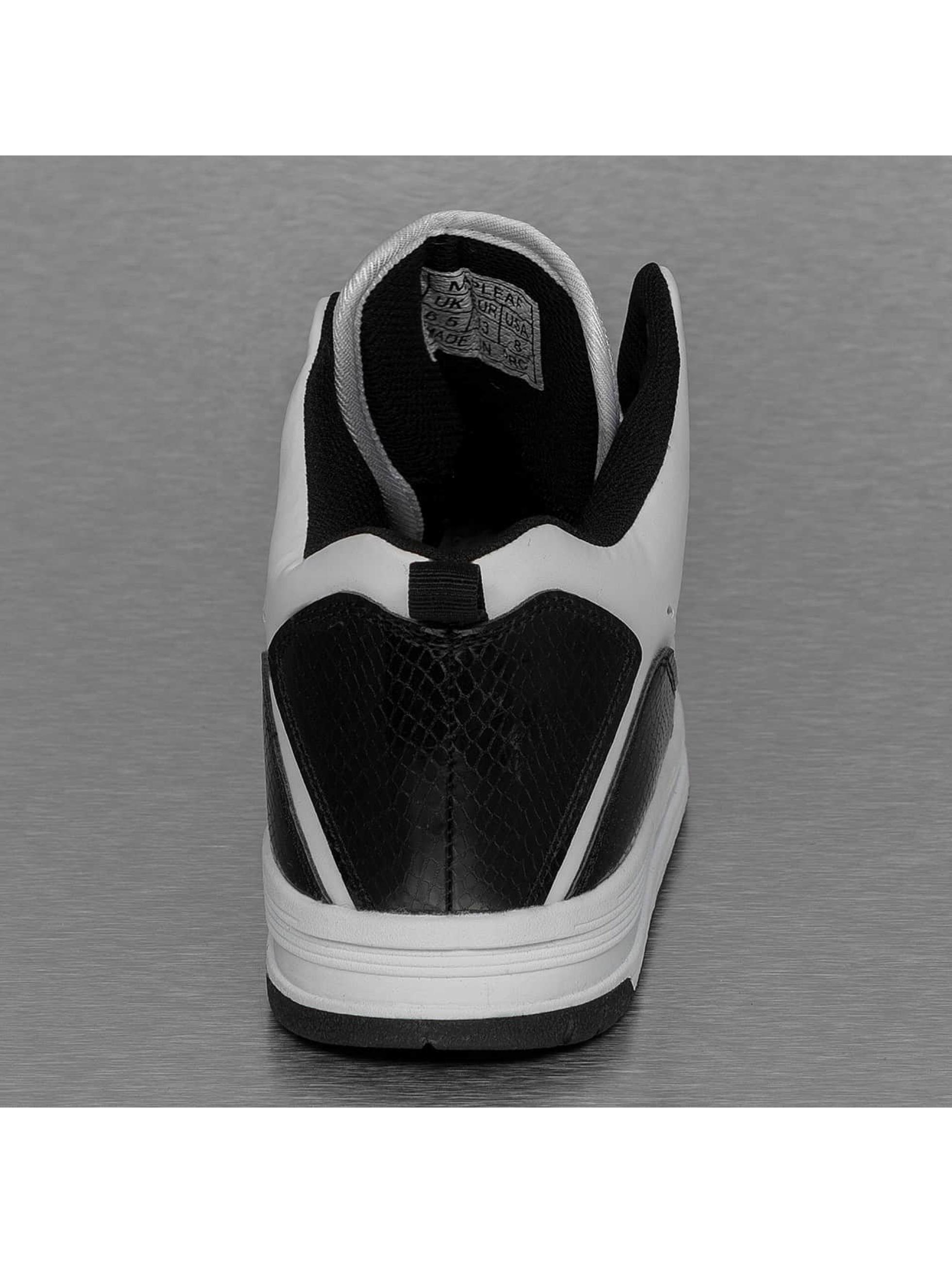 New York Style Sneakers Mid Top biela