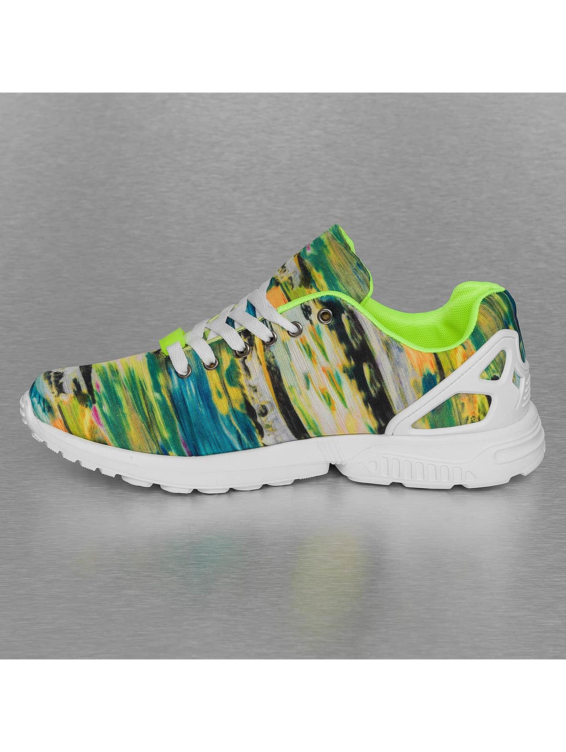 New York Style Sneakers Low Top färgad
